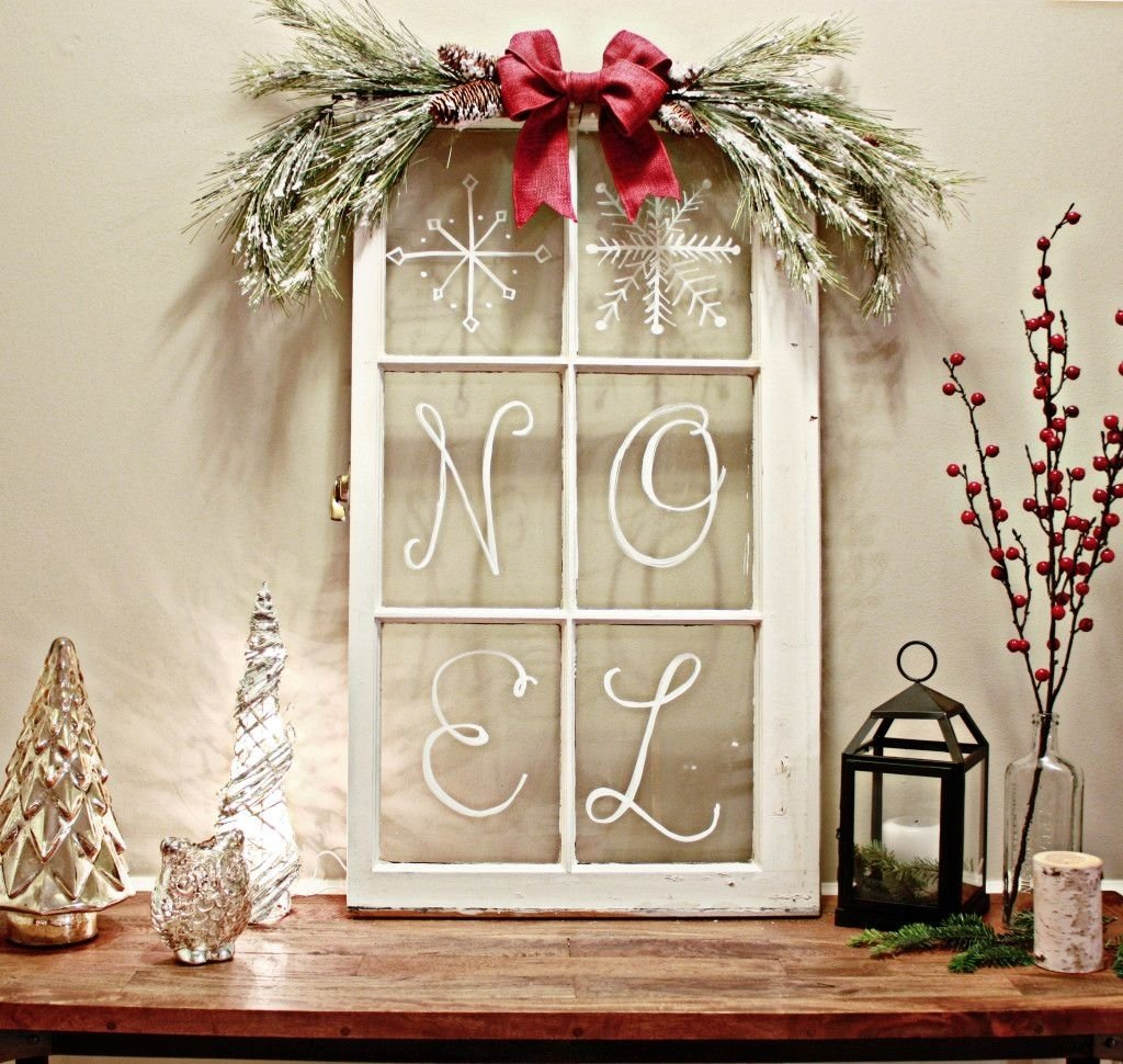 10 Fabulous Christmas Decorating Ideas For Windows rustic christmas decorating ideas rustic christmas window and 2020