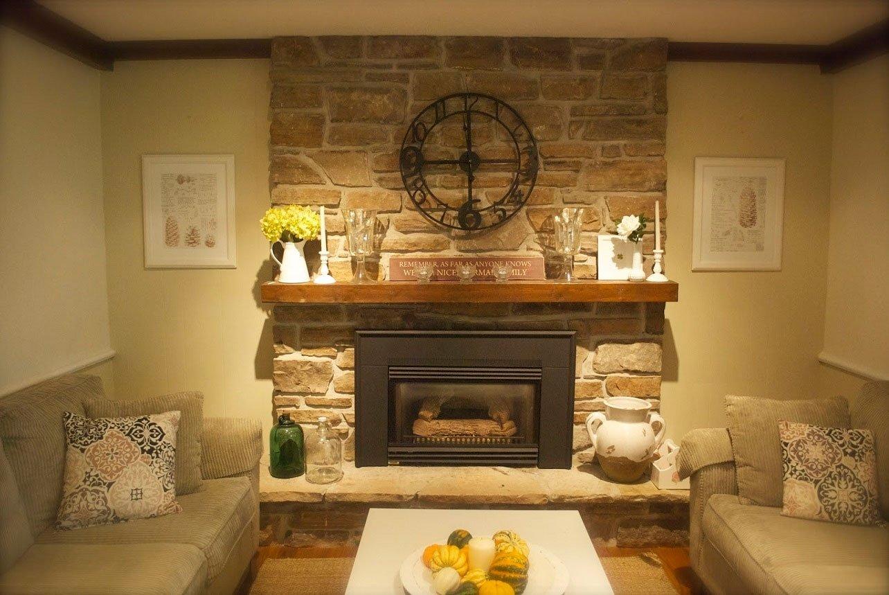 10 Unique Mantel Ideas For Brick Fireplace rustic fireplace mantel ideas decosee 2020