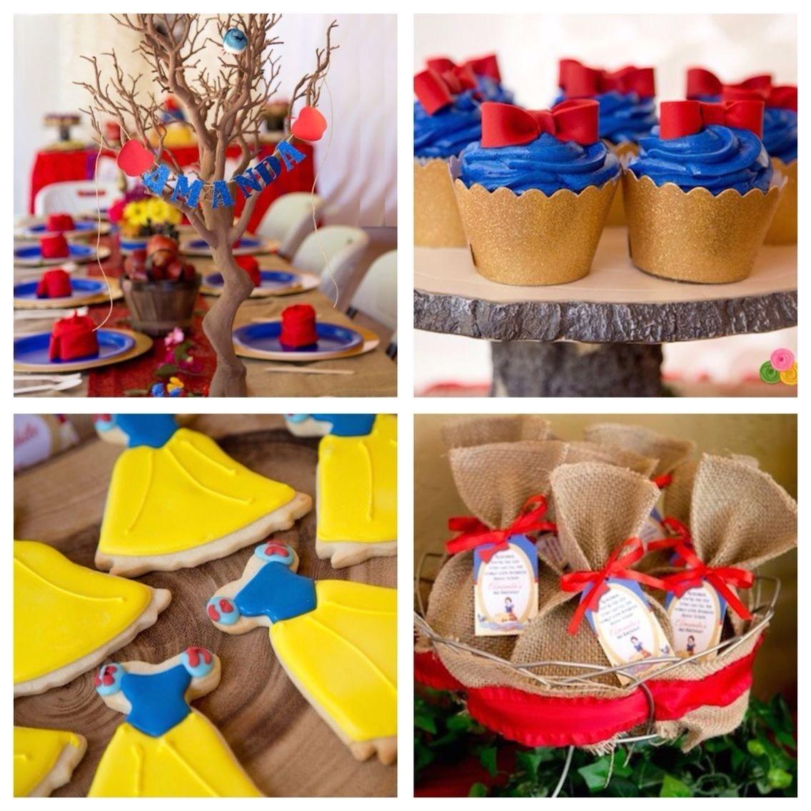 10 Fashionable Snow White Birthday Party Ideas rustic glam snow white birthday party princess party snow white