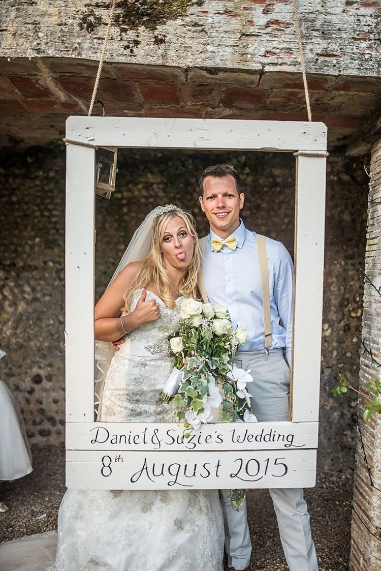 10 Perfect Photo Booth Ideas For Wedding rustic outdoor festival feel yellow blue summer wedding photo 2021