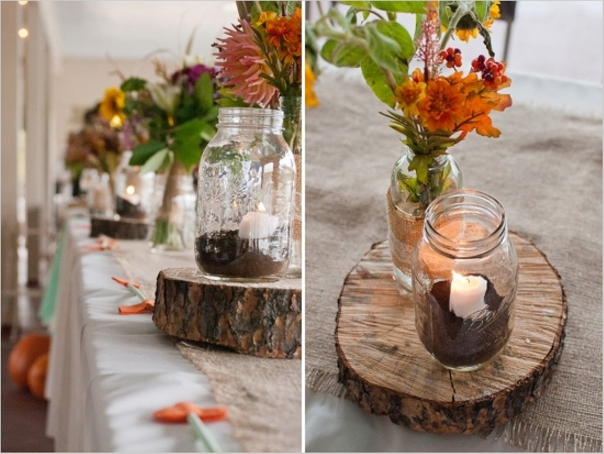 10 Amazing Country Wedding Ideas For Fall rustic wedding reception table decorations home design ideas 2021