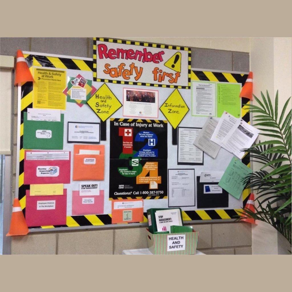 10 Stylish Bulletin Board Ideas For Work safety bulletin board archives safety celebration 1 2020