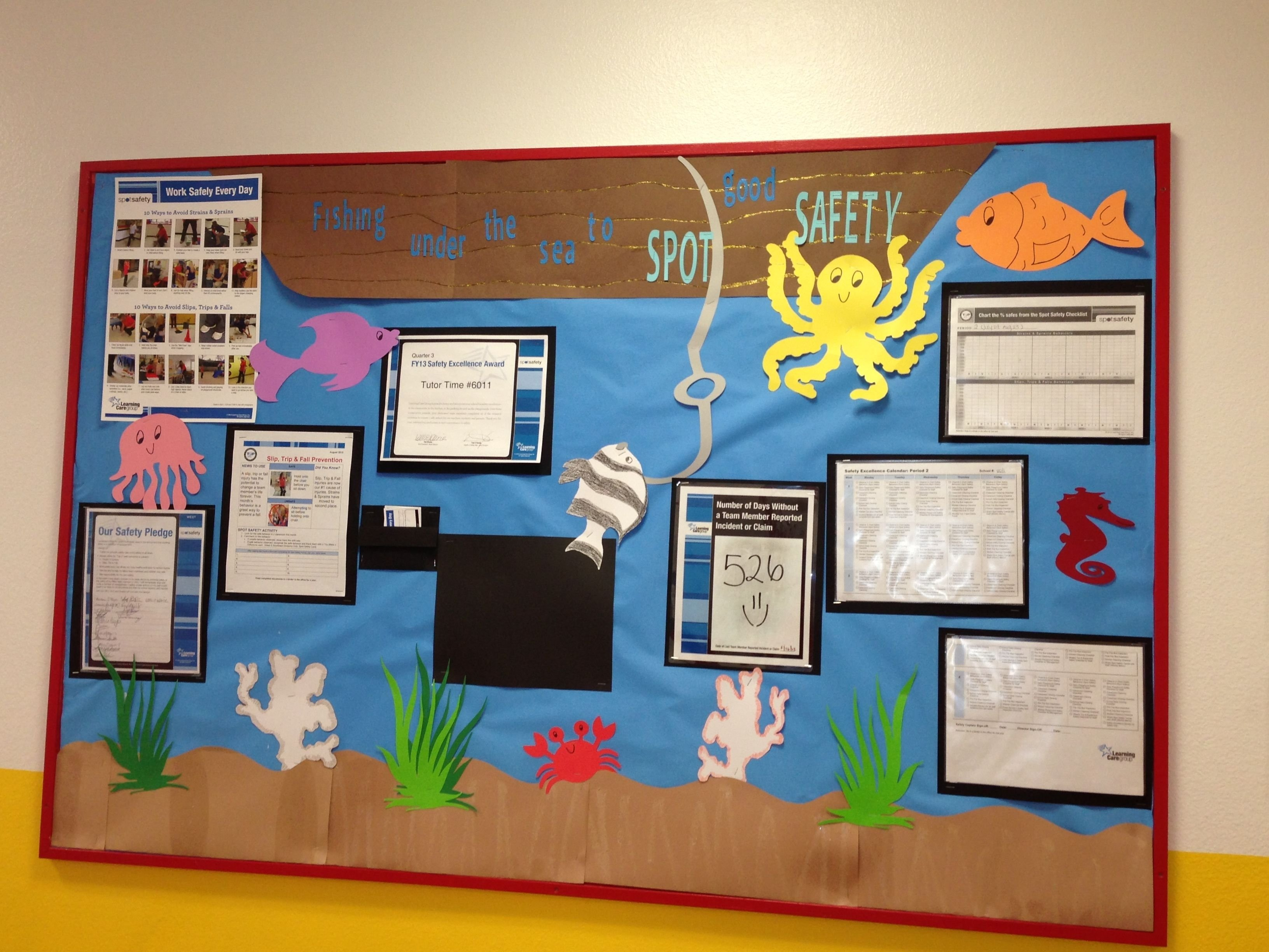 10 Pretty Safety Ideas For The Workplace safety bulletin board themed bulletin boards pinterest 2020