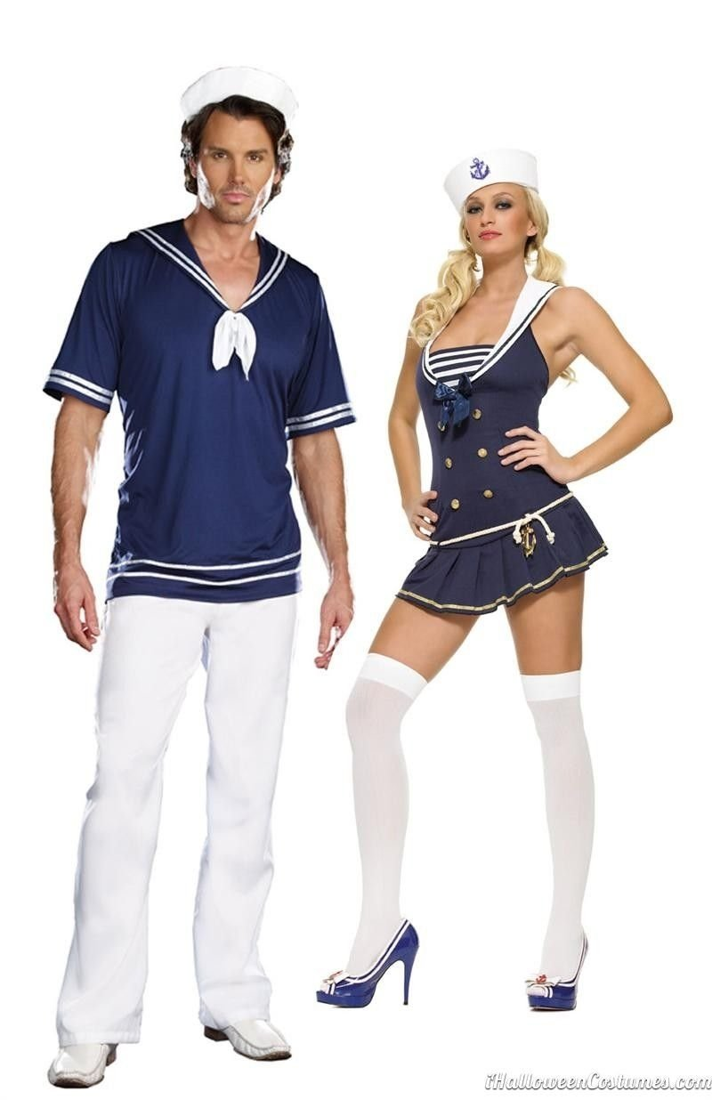 10 Ideal Couples Halloween Costume Ideas 2013 sailor couples halloween costume halloween costumes 2013 2021