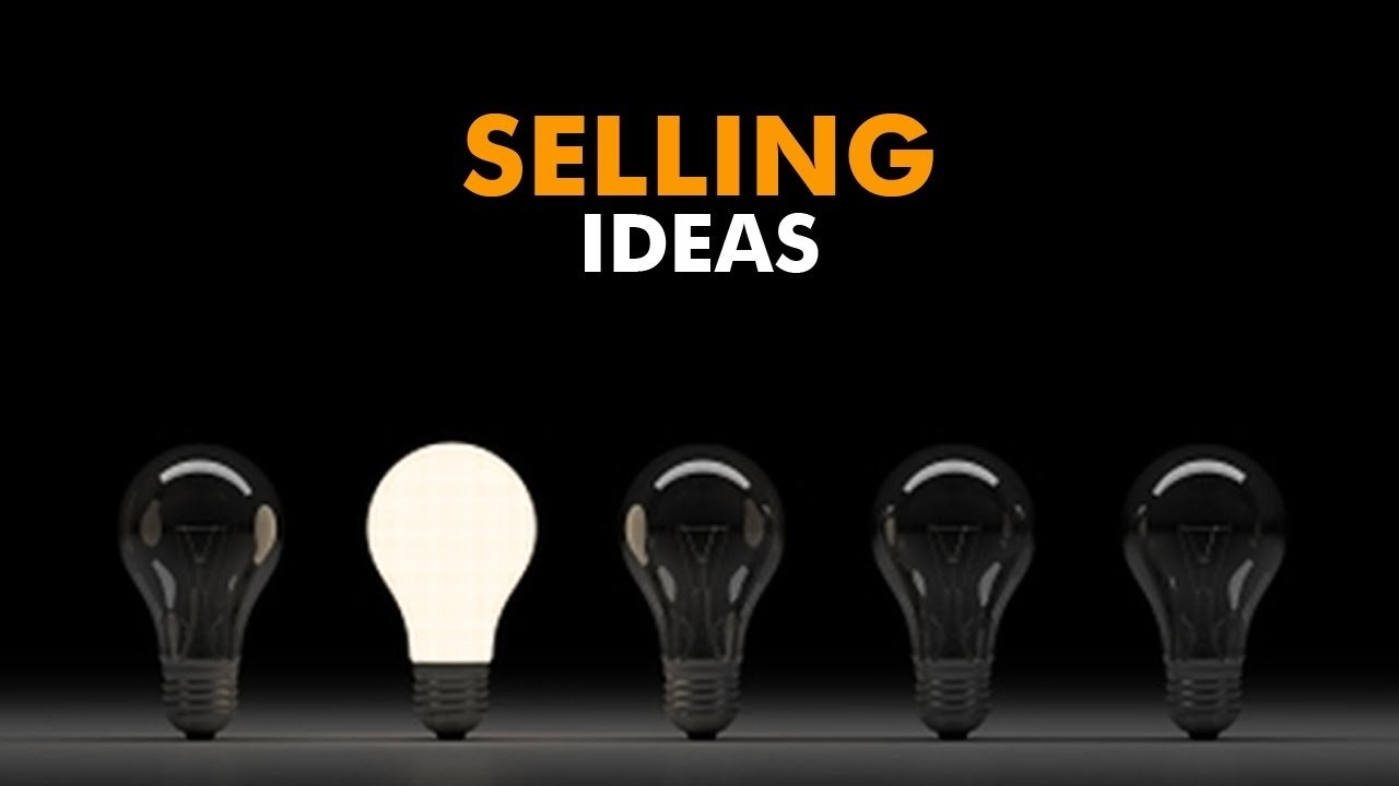 sales techniques - how to sell ideas to big companies - ask evan