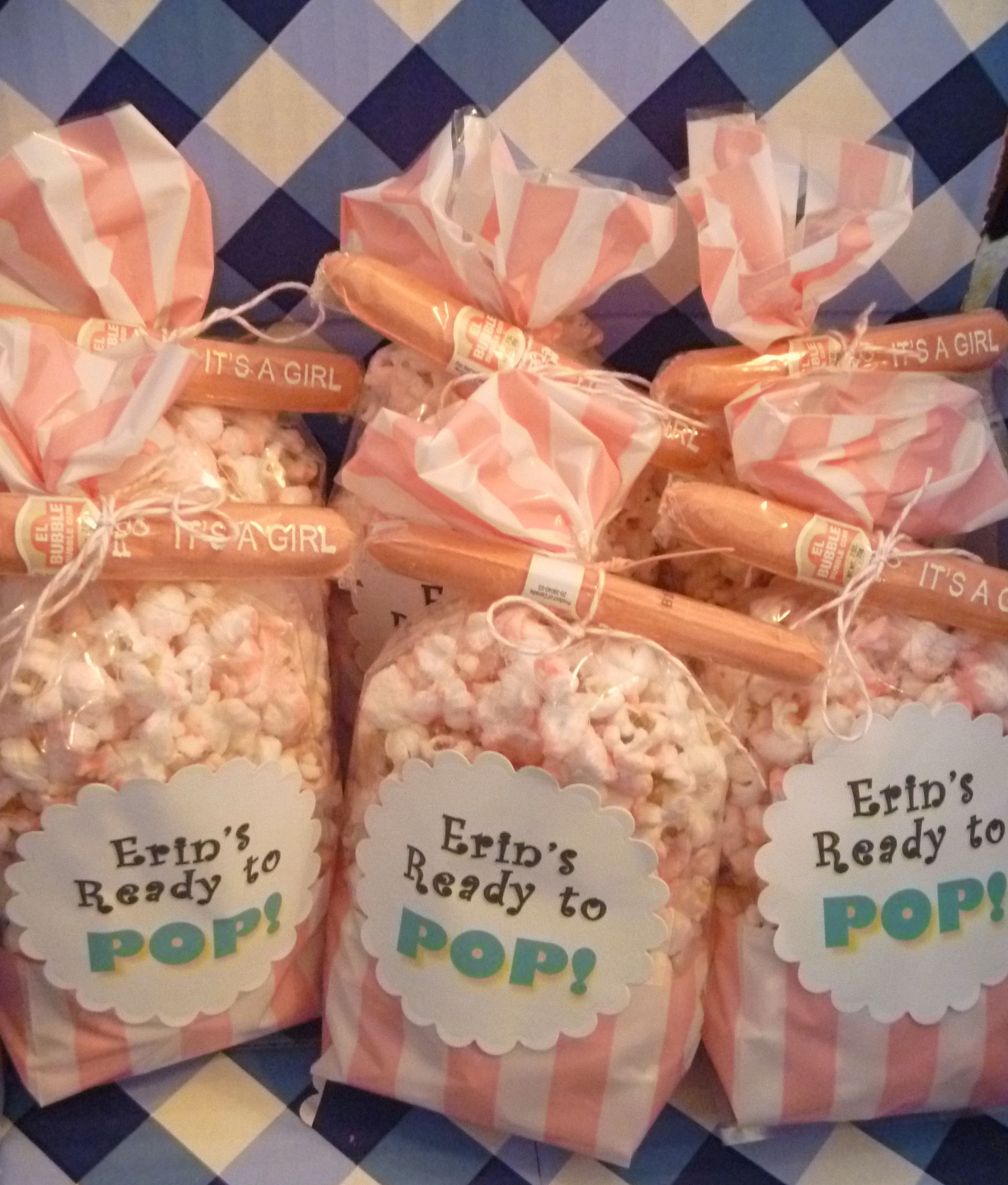 10 Attractive About To Pop Baby Shower Ideas salty sweet delicious ready to pop popcorn baby shower favors 2020