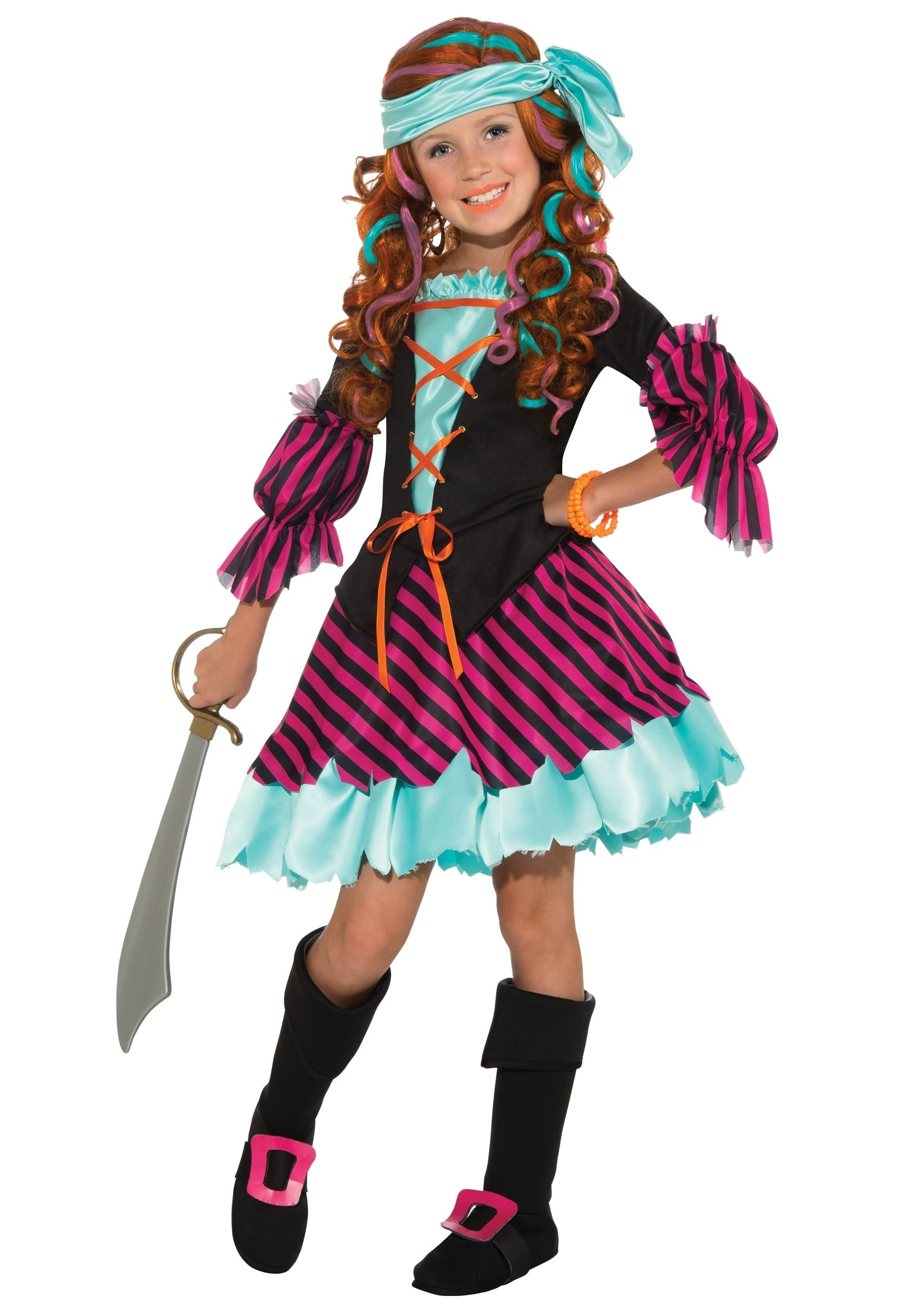 10 Nice Ideas For Halloween Costumes For Girls salty taffy girls pirate costume 2020