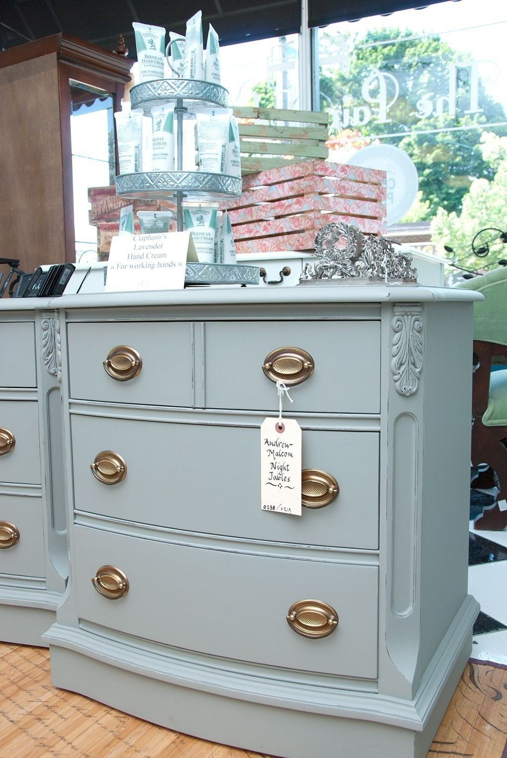 10 Pretty Annie Sloan Painted Furniture Ideas salvaged inspirations malcom annie sloan chalk painted end tables 2020