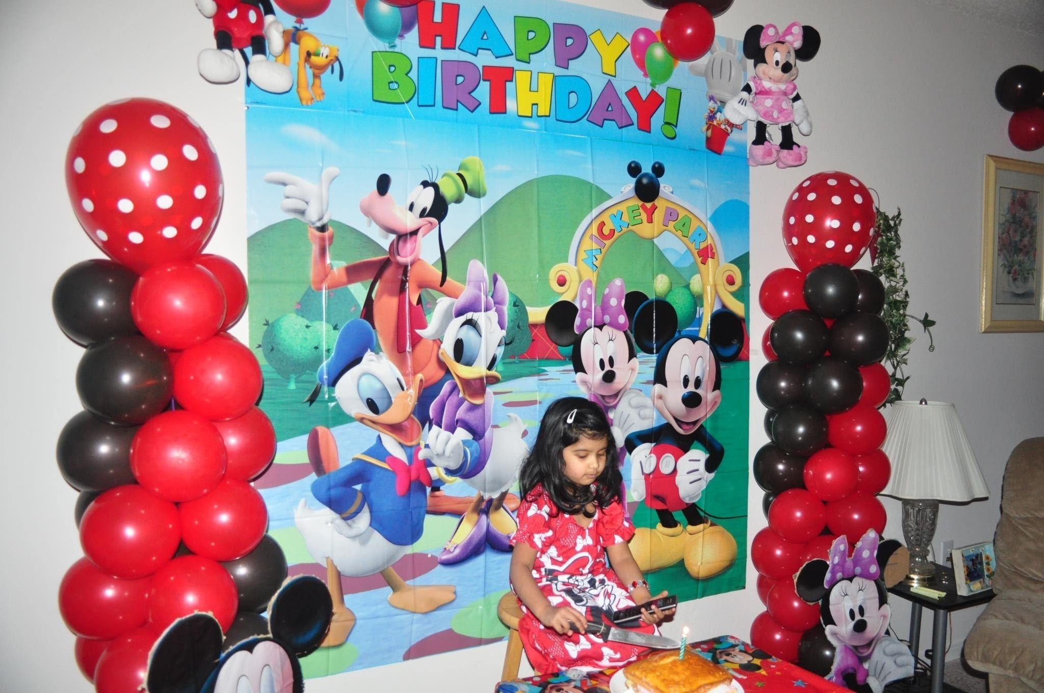10 Trendy Mickey Mouse Theme Party Ideas samayeras mickey mouse bday party birthday decorating ideas 2020