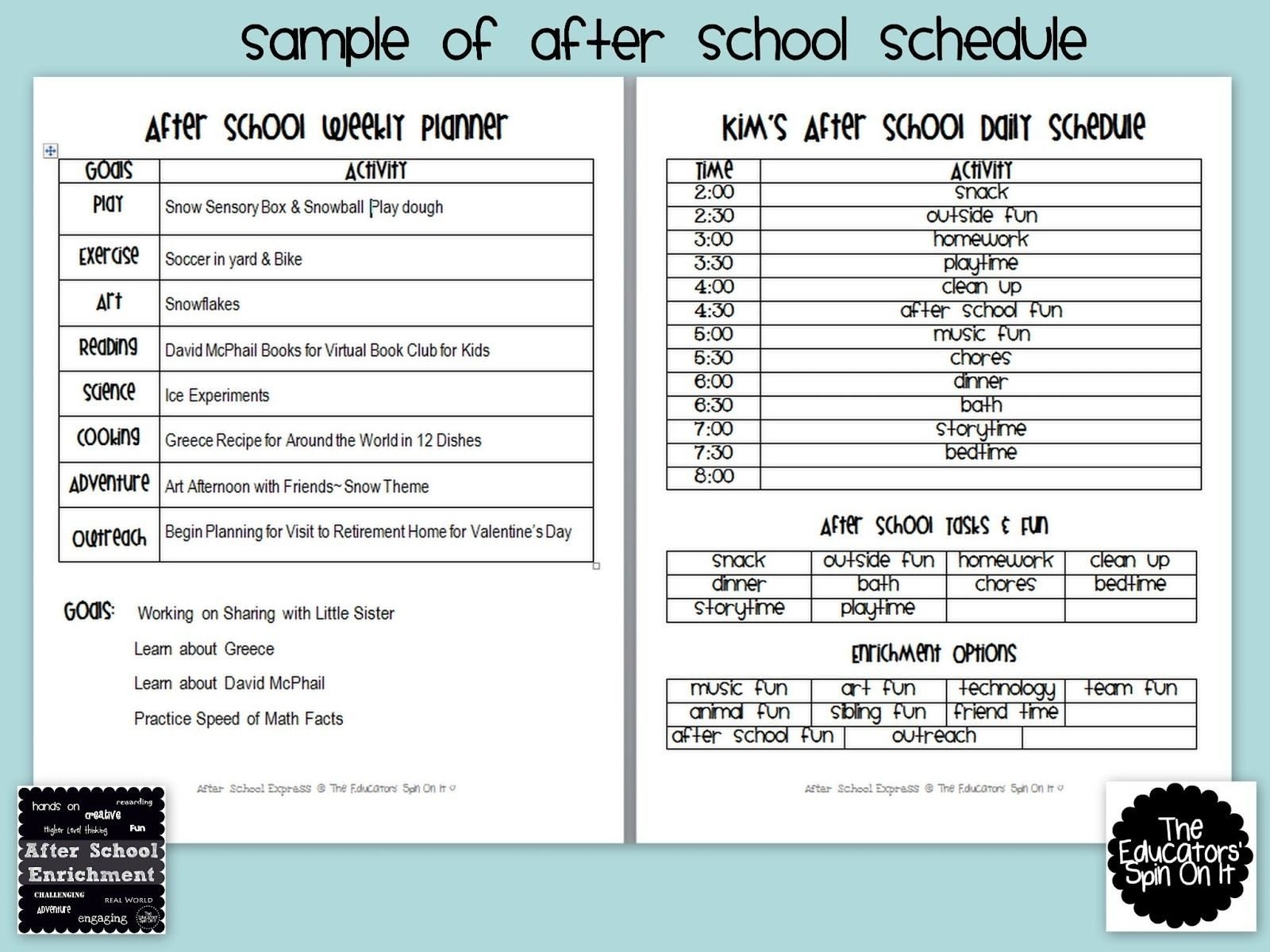10 Nice After School Program Activity Ideas sample after school program proposal beautiful free 1
