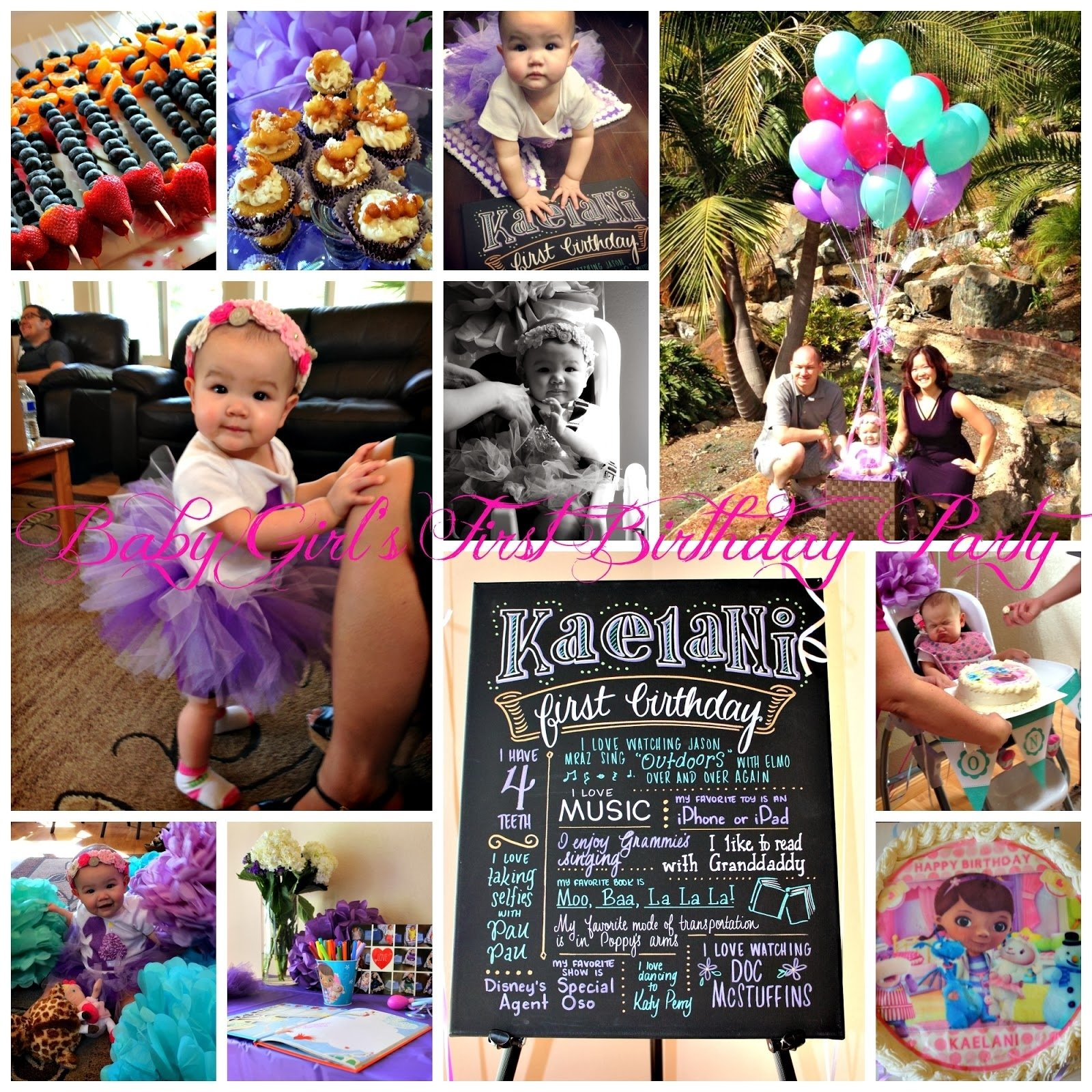 10 Nice Ideas For Baby First Birthday san diego hr mom baby girls first birthday party ideas 2020