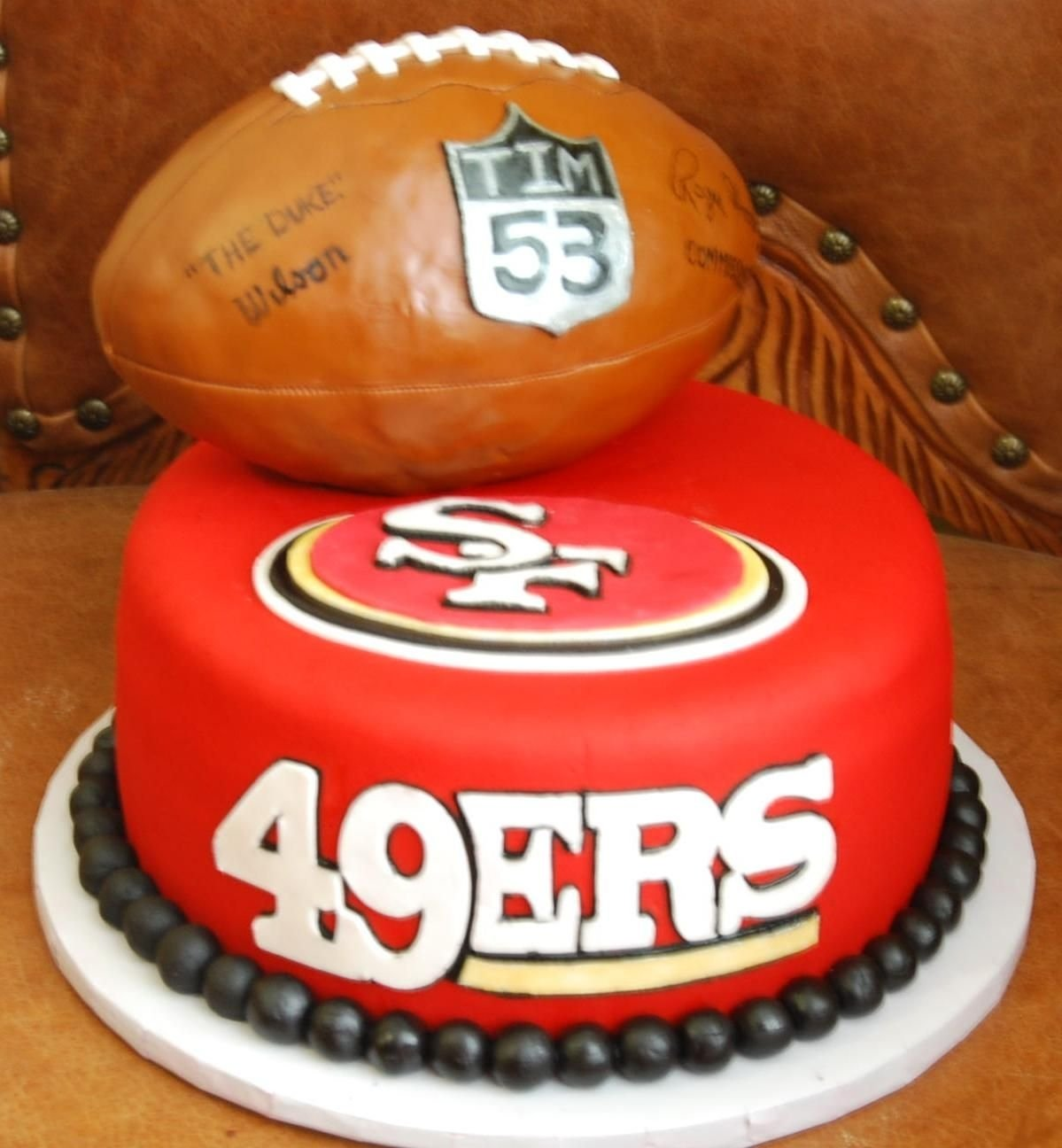 10 Most Recommended Fun Birthday Ideas San Francisco 49ers Edible Photo Image Cake Topper