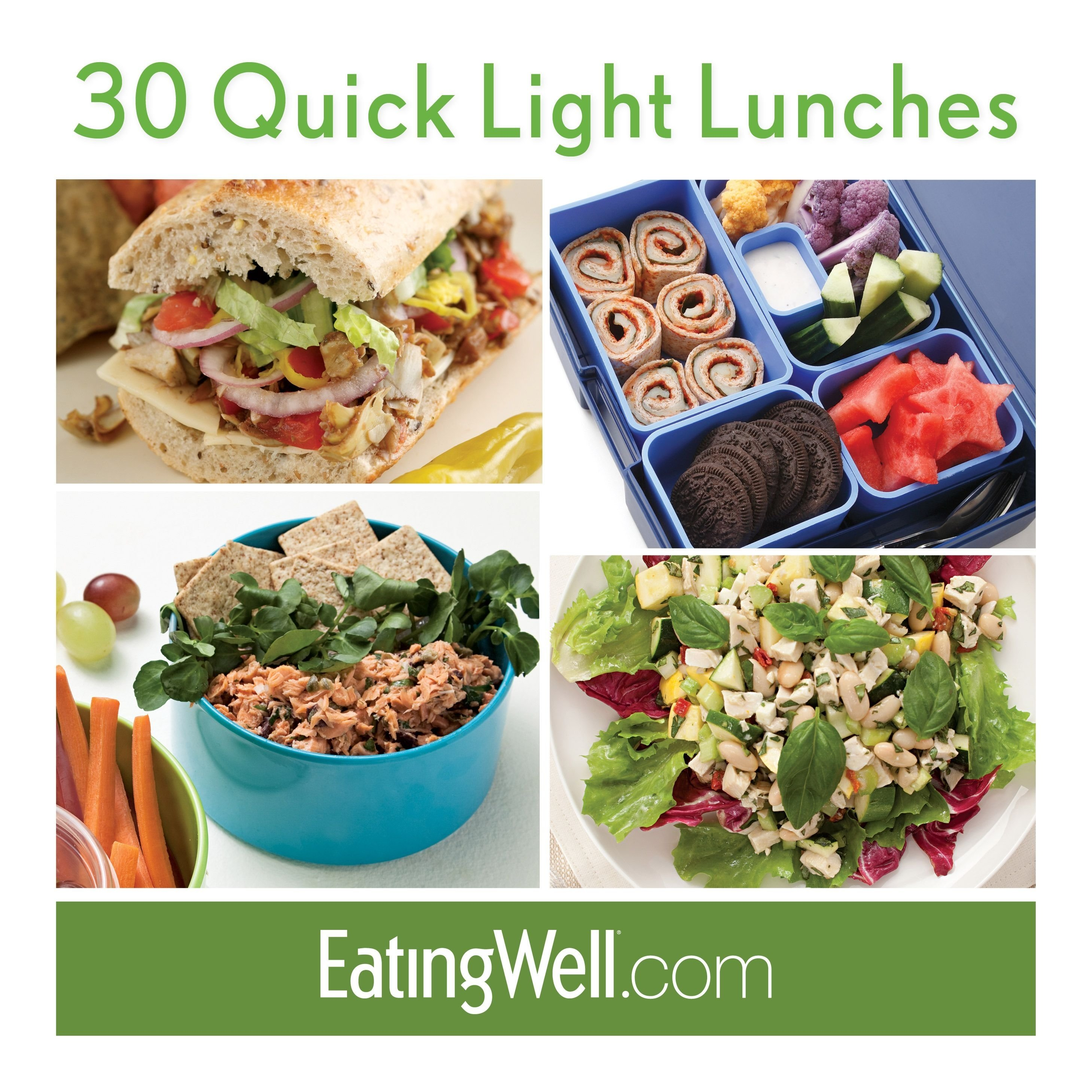 sandwiches, salads, bento boxes and more healthy, low-calorie lunch