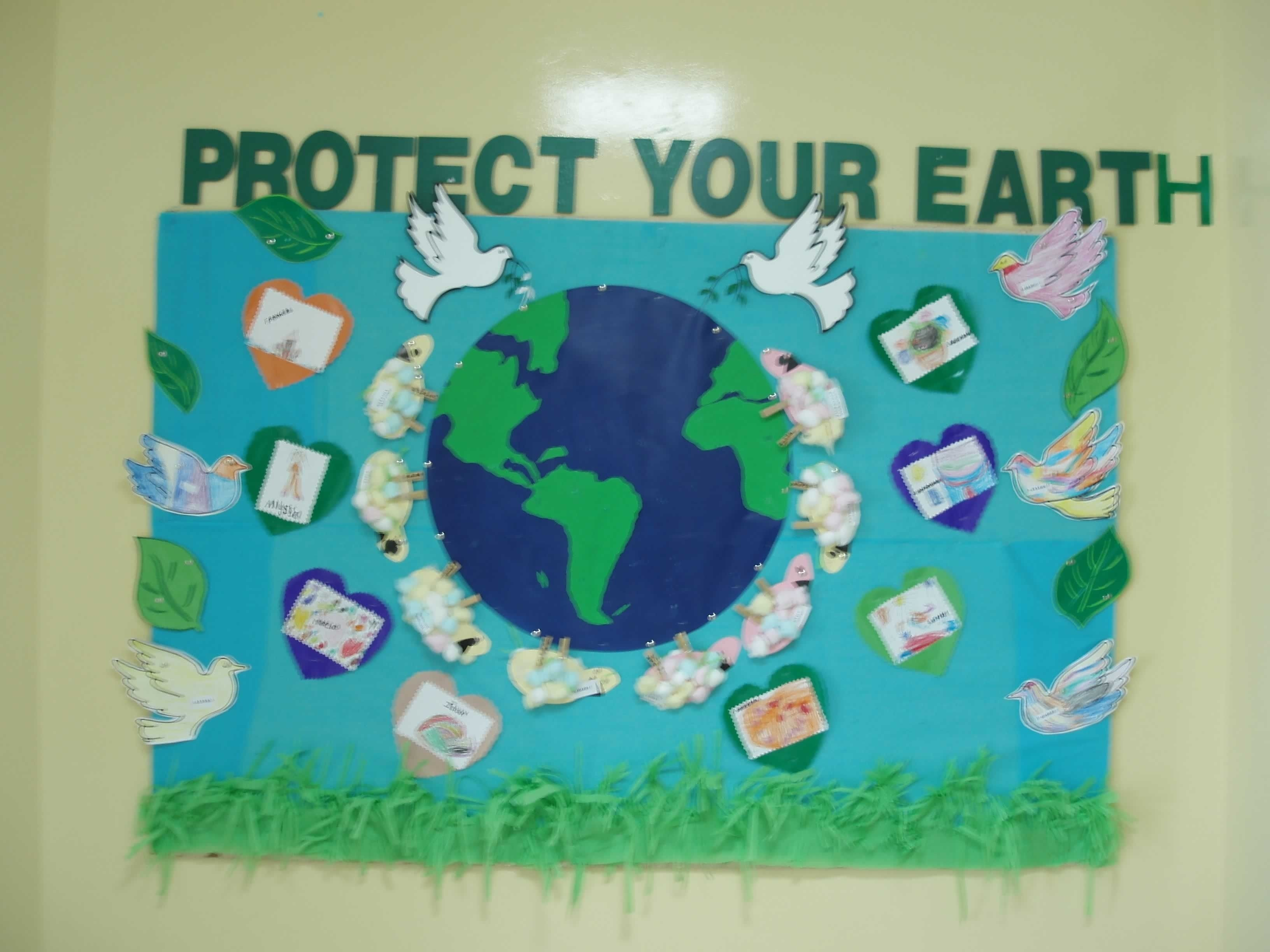 save planet earth! | bulletin board, classroom management and
