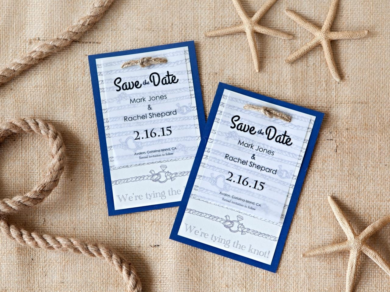 10 Amazing Save The Date Ideas Diy %name 2021