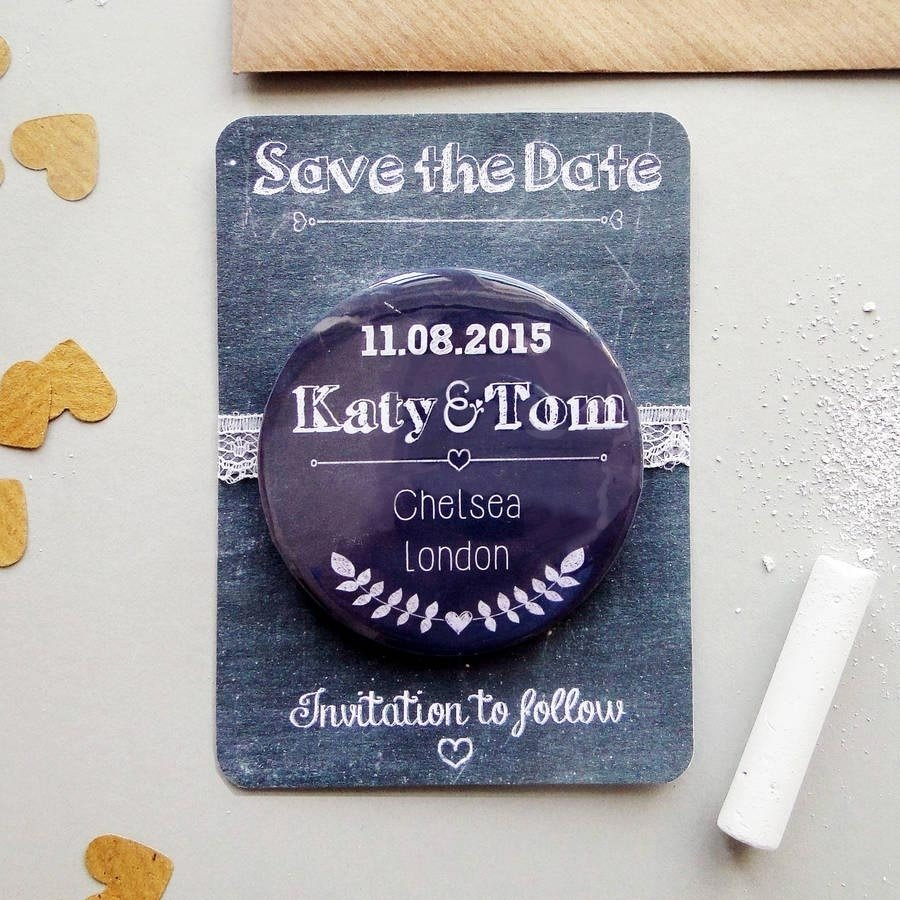save the date magnets | hitched.co.uk