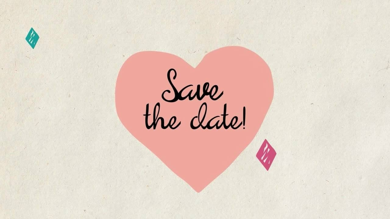10 Unique Save The Date Video Ideas save the date wedding invite video template youtube 2021