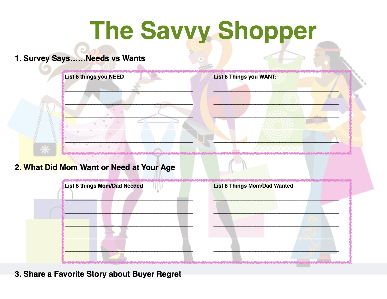 10 Fashionable Girl Scout Field Trip Ideas savvy shopper badge pg 1 a free field trip to the grocery store 2020