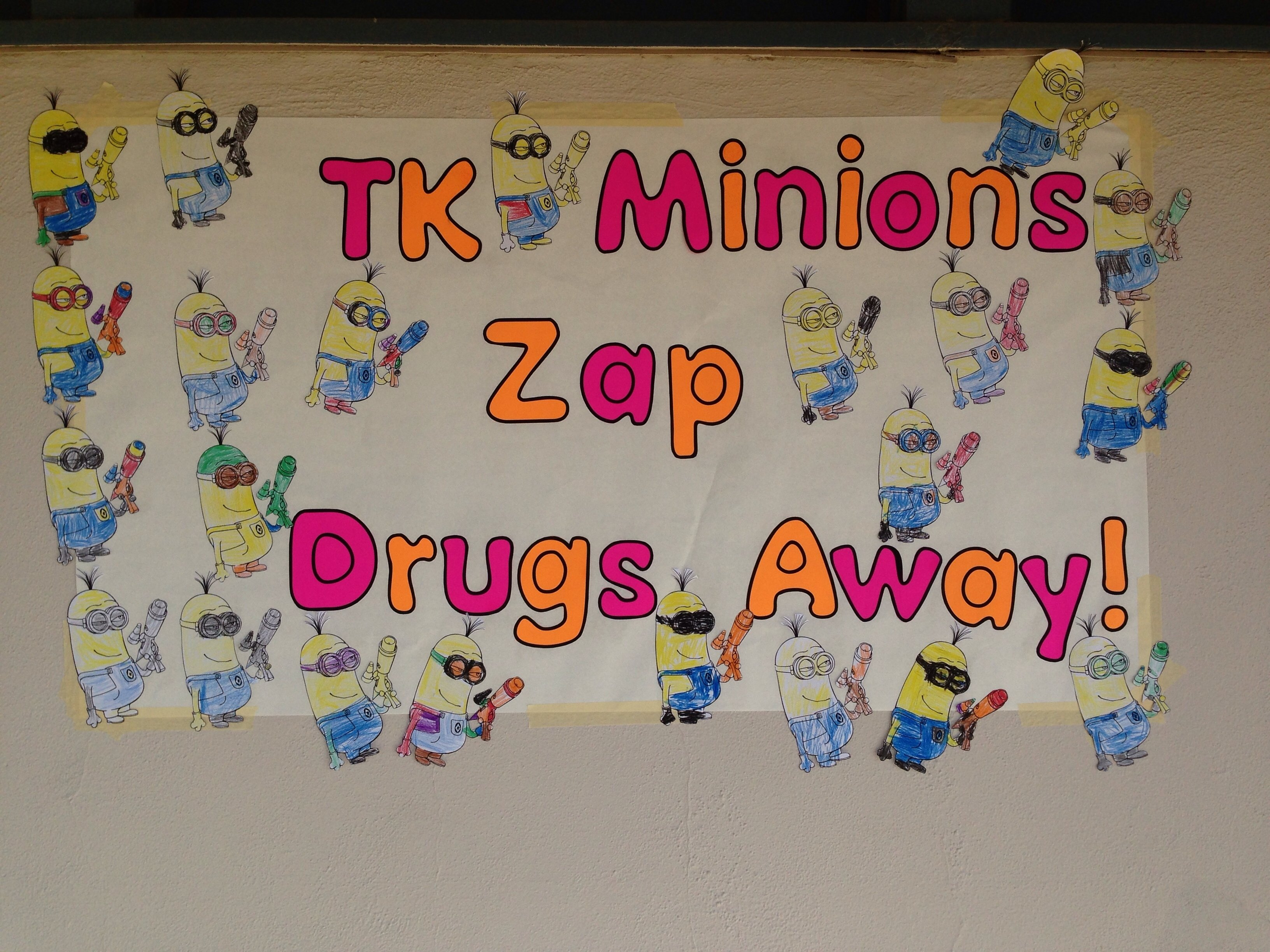 10 Stylish Say No To Drugs Poster Ideas say no to drugs minion poster we made classroom pinterest red