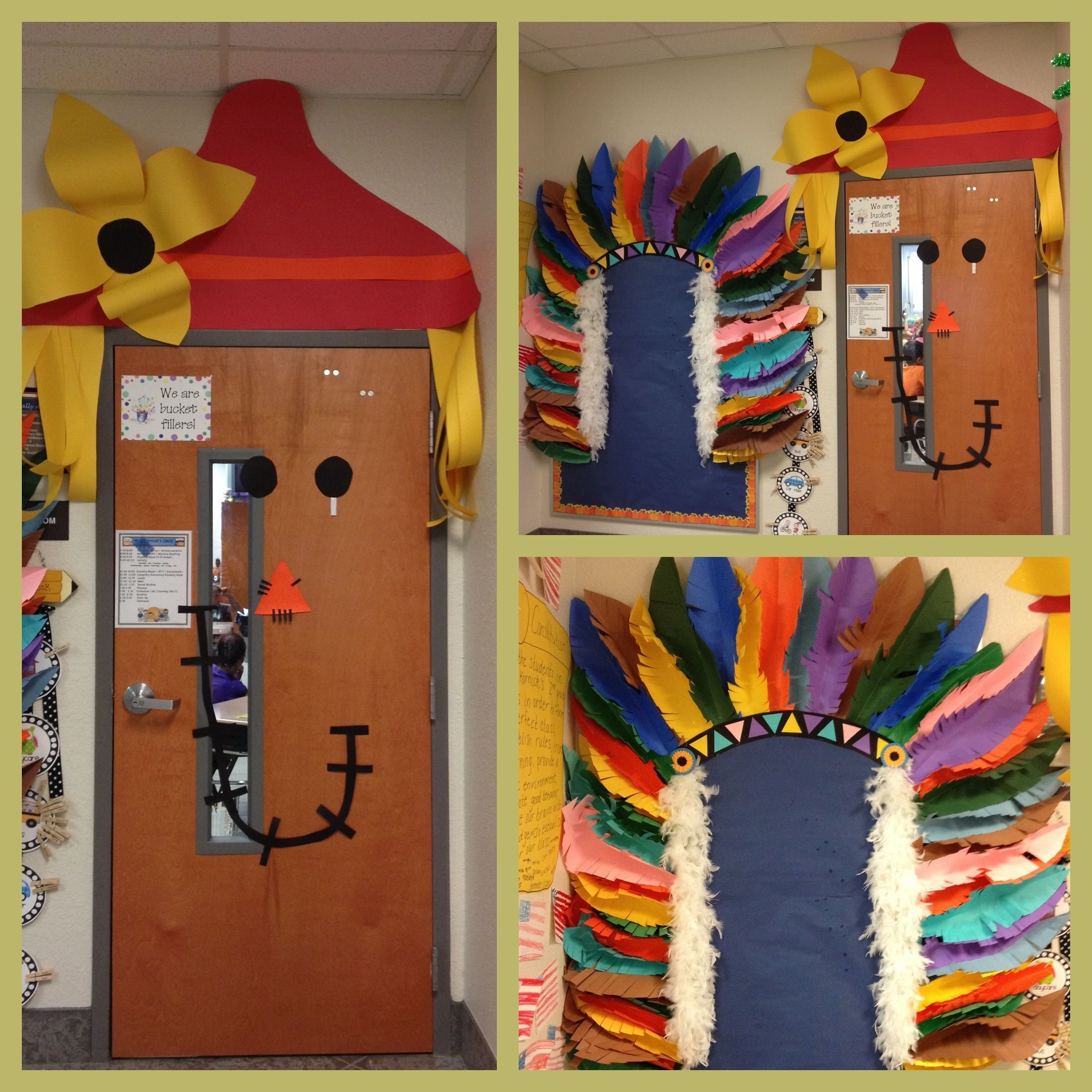 10 Most Recommended Native American Bulletin Board Ideas scarecrow door 2nd yr bc hes so cute and native american 2020