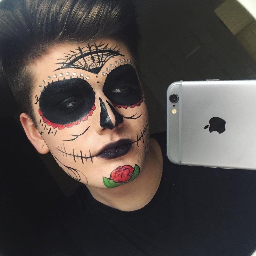 10 Best Halloween Makeup Ideas For Men scary halloween makeup for guys 58 halloween makeup designs ideas 2020