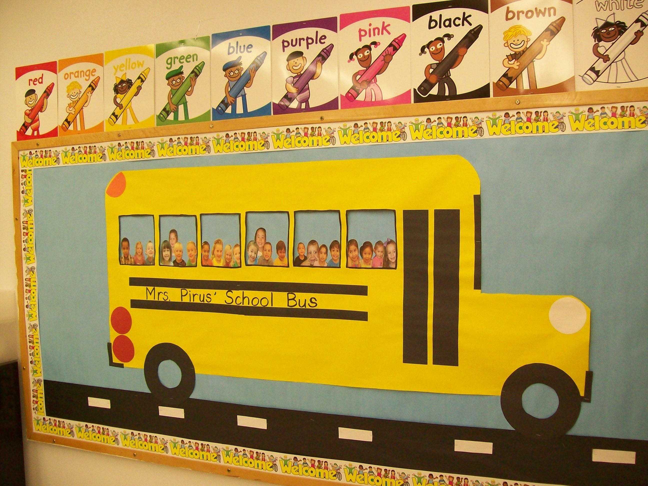 10 Gorgeous Back To School Preschool Bulletin Board Ideas school bus back to school bulletin board idea bulletin boards 2020