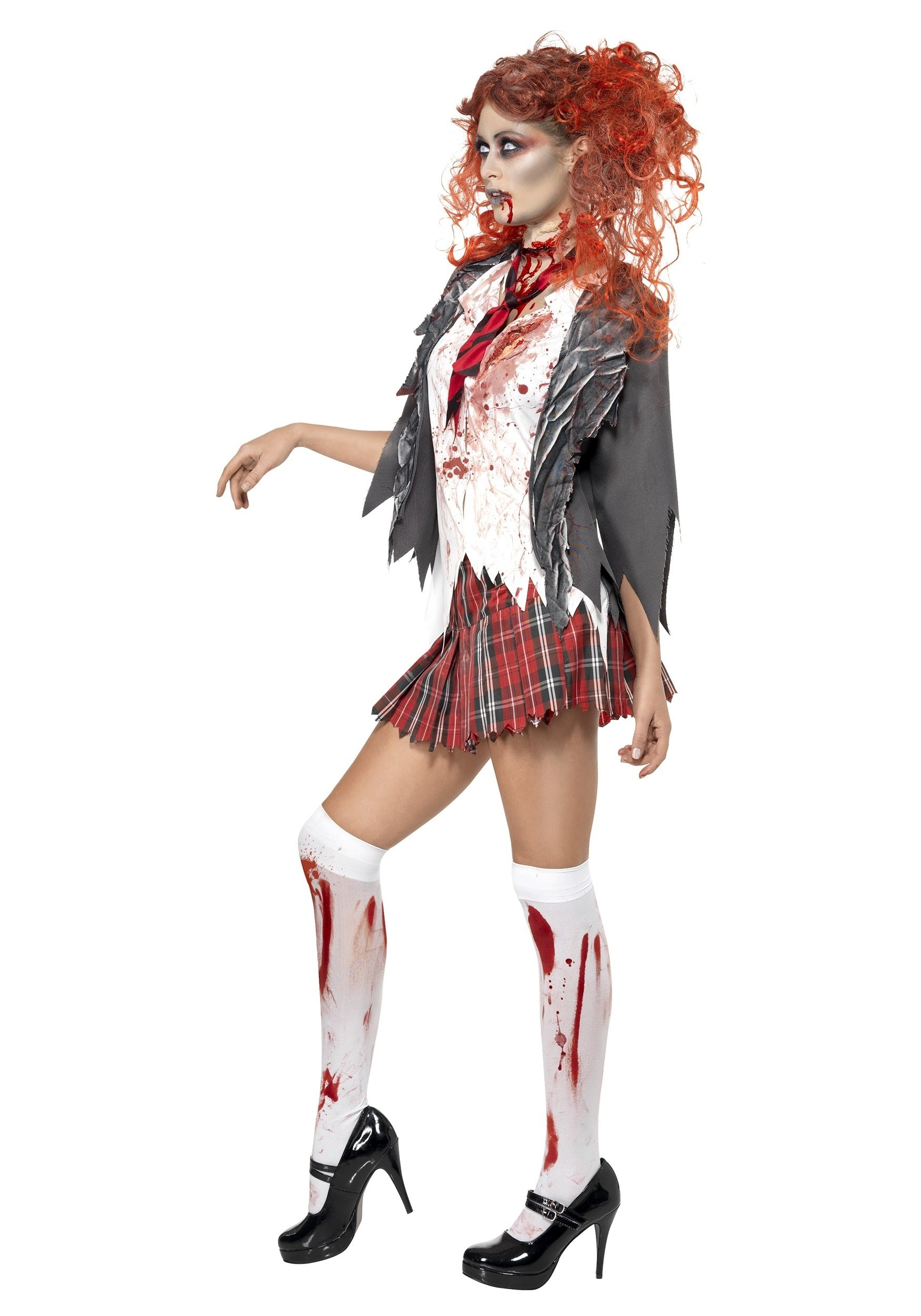 10 Ideal High School Halloween Costume Ideas school girl zombie costume