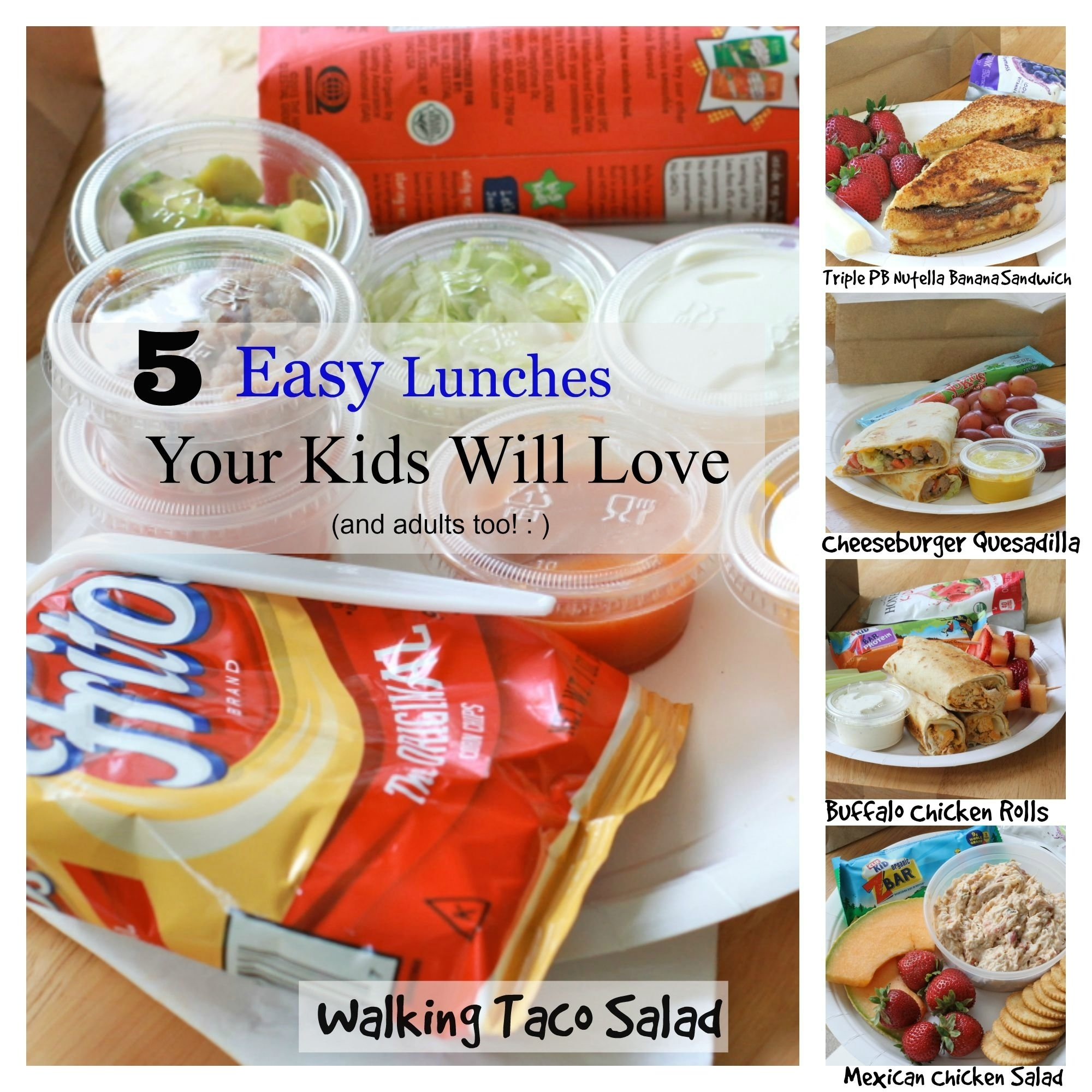 10 Most Popular Lunch Ideas For Kids For School school lunch ideas for kids food and drinks pinterest school 1 2021