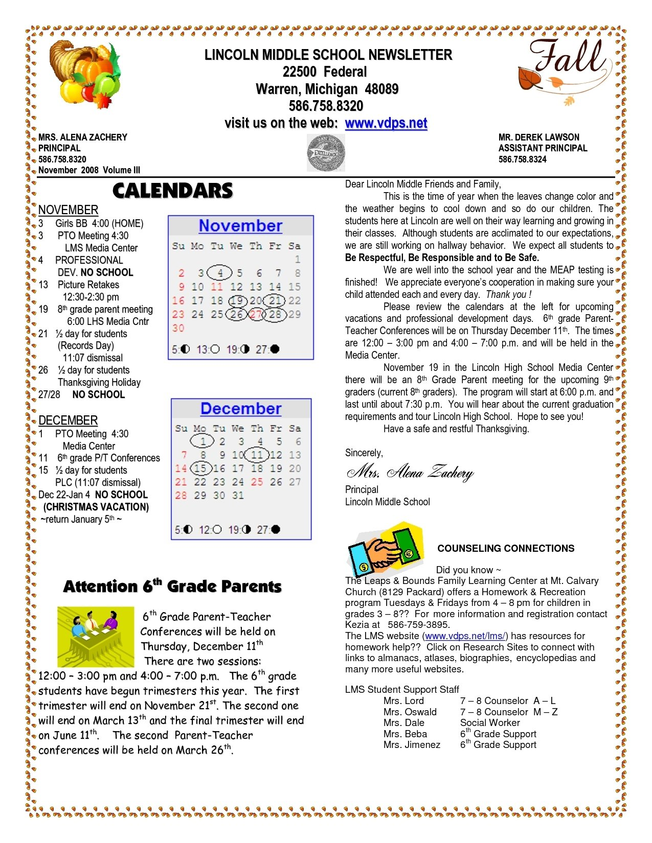 10 Attractive Middle School Newspaper Article Ideas school newsletter templates lincoln middle school newsletter 2020