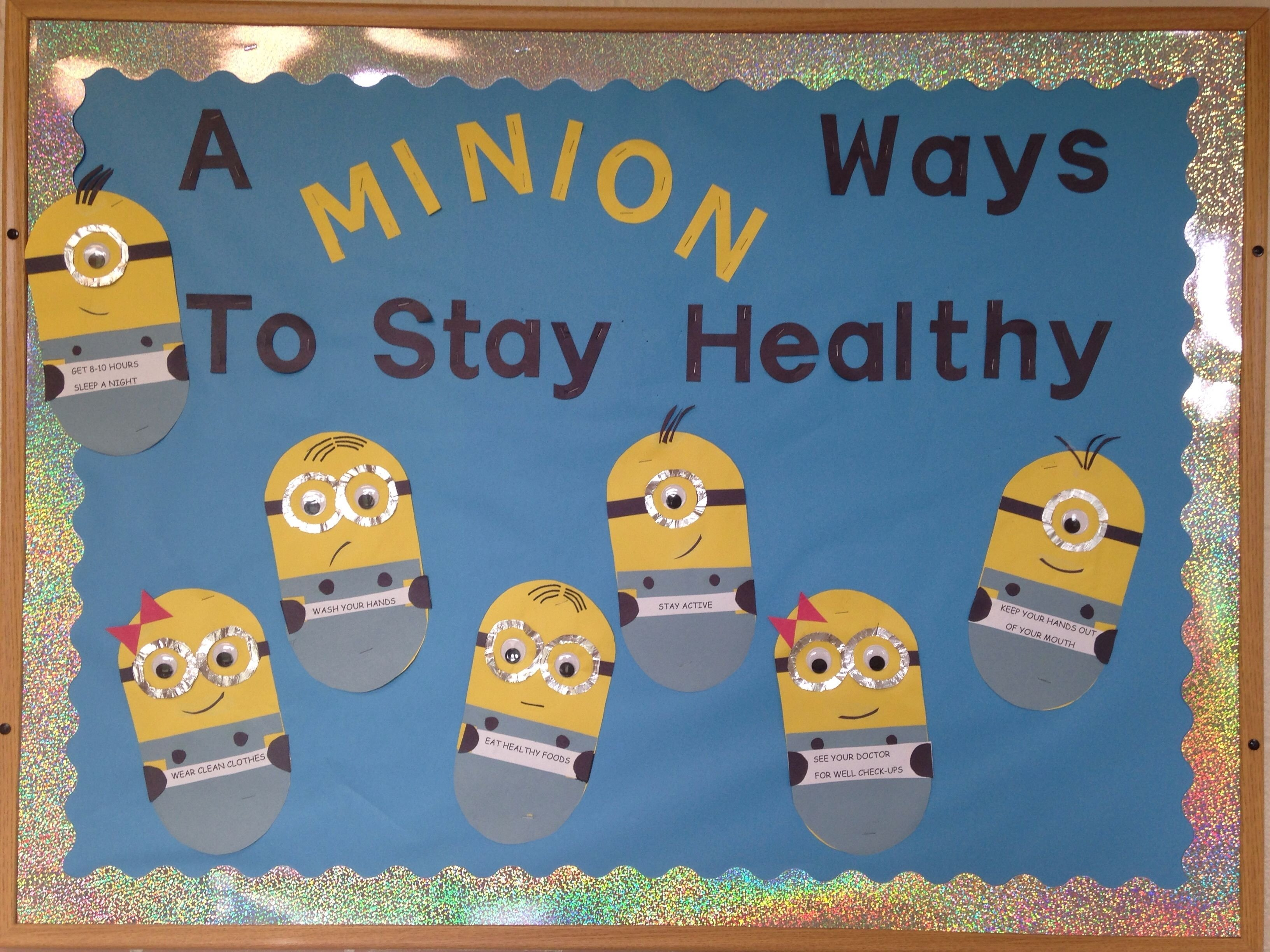 10 Unique School Nurse Bulletin Board Ideas school nurse bulletin board minions school nurse pinterest 2020