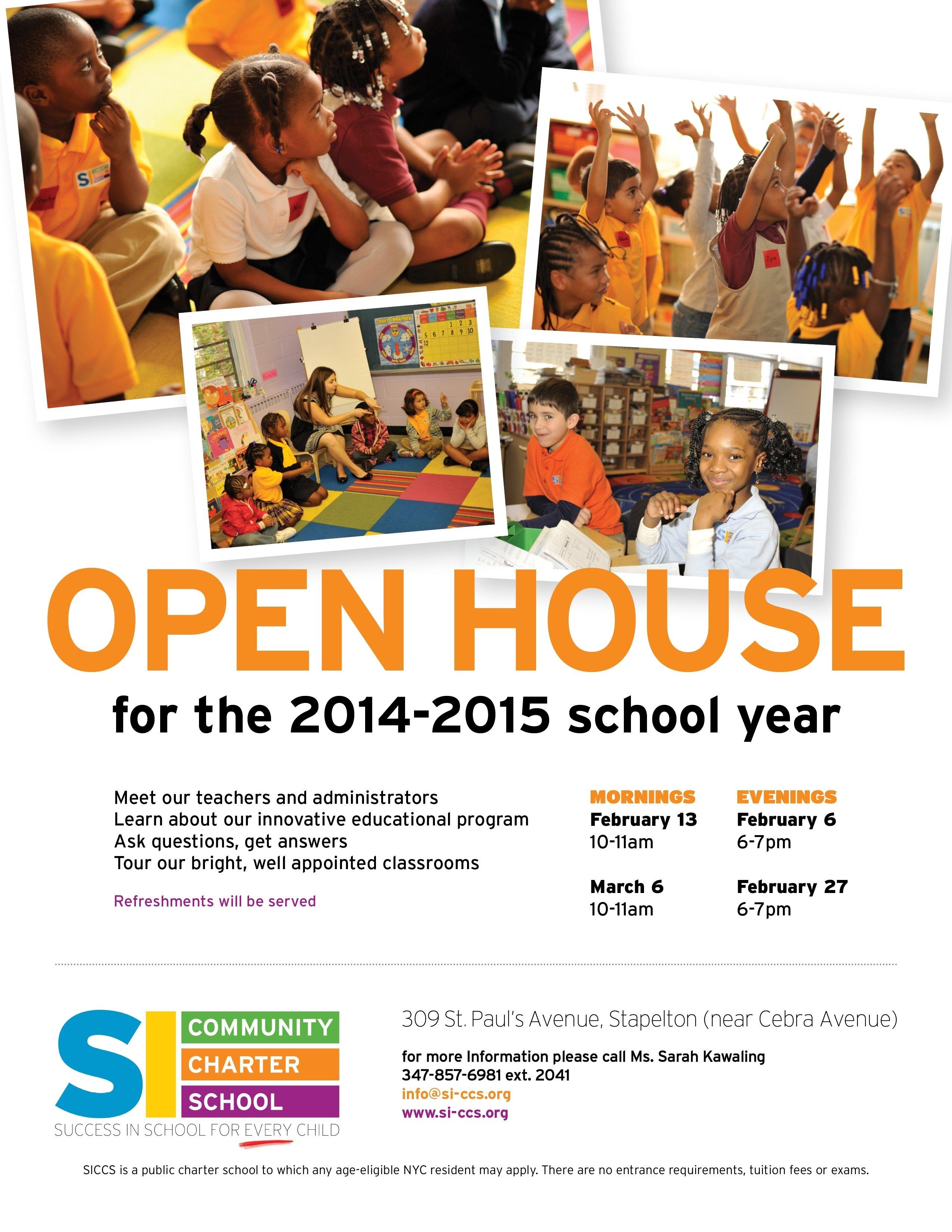 10 Lovely Middle School Open House Ideas school open house flyers on behance bunch ideas of school open house 1 2020