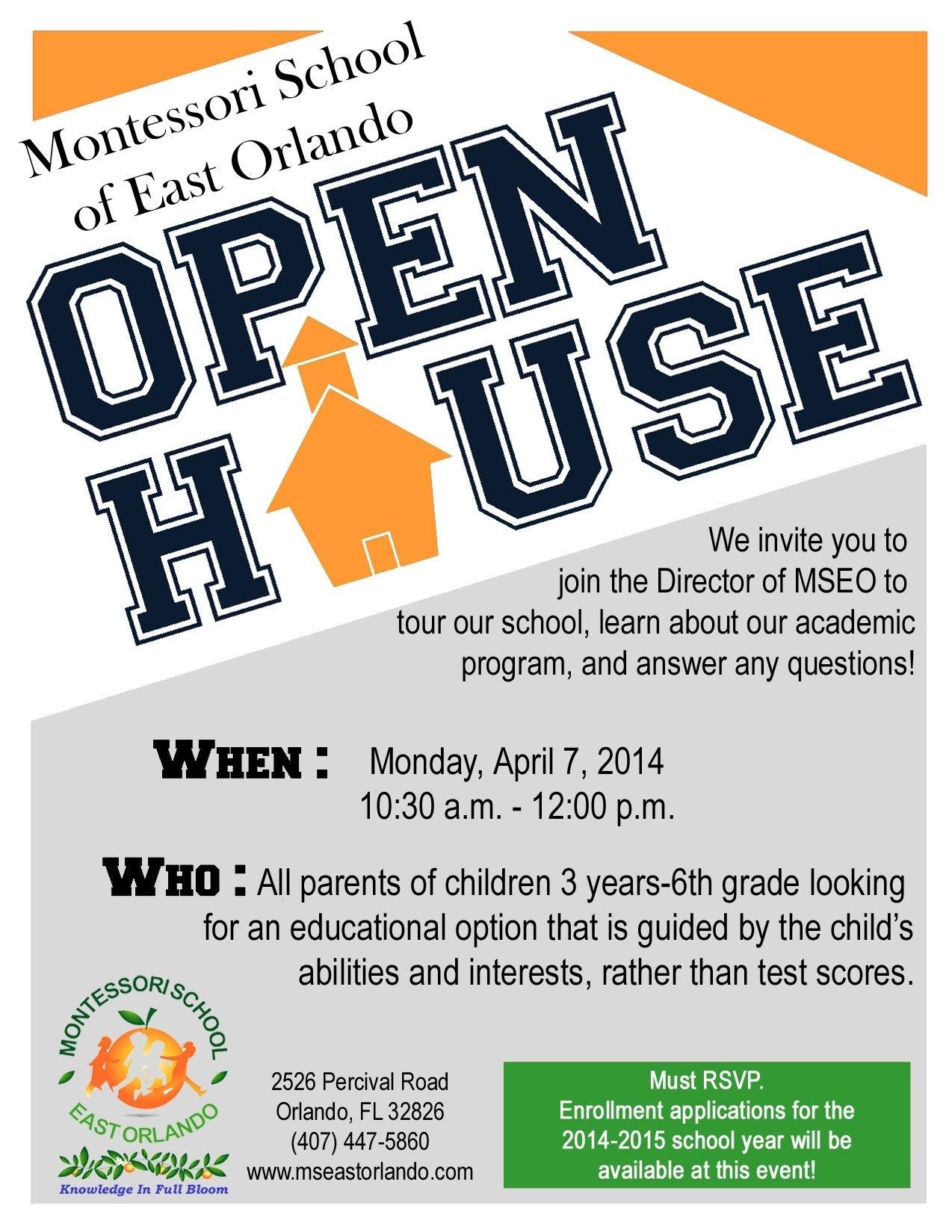 10 Lovely Middle School Open House Ideas school open house flyers on behance bunch ideas of school open house 2020