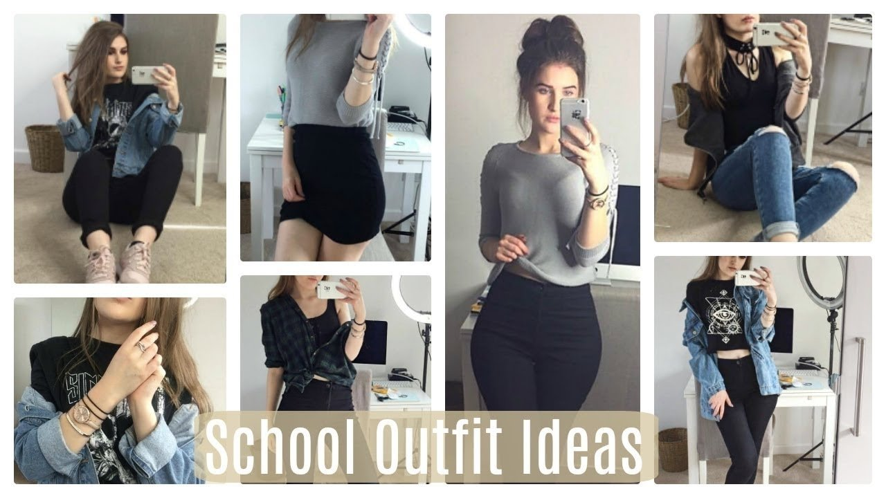10 Nice Winter Outfit Ideas For School school outfit ideas summer winter 2017 youtube 2020