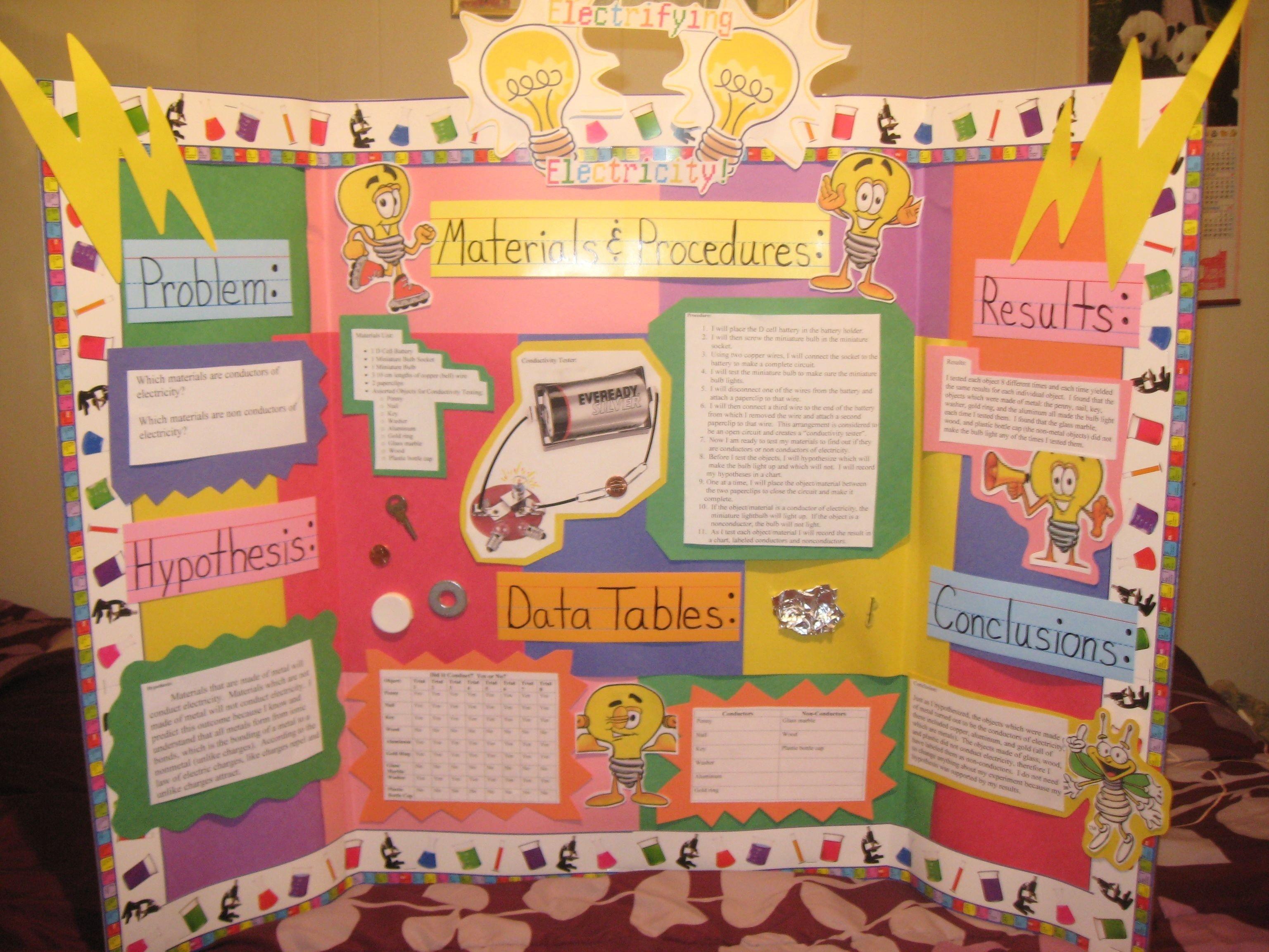 10 Lovable Kindergarten Science Fair Project Ideas science fair project electrify electricity fun stuff for kids 1 2020