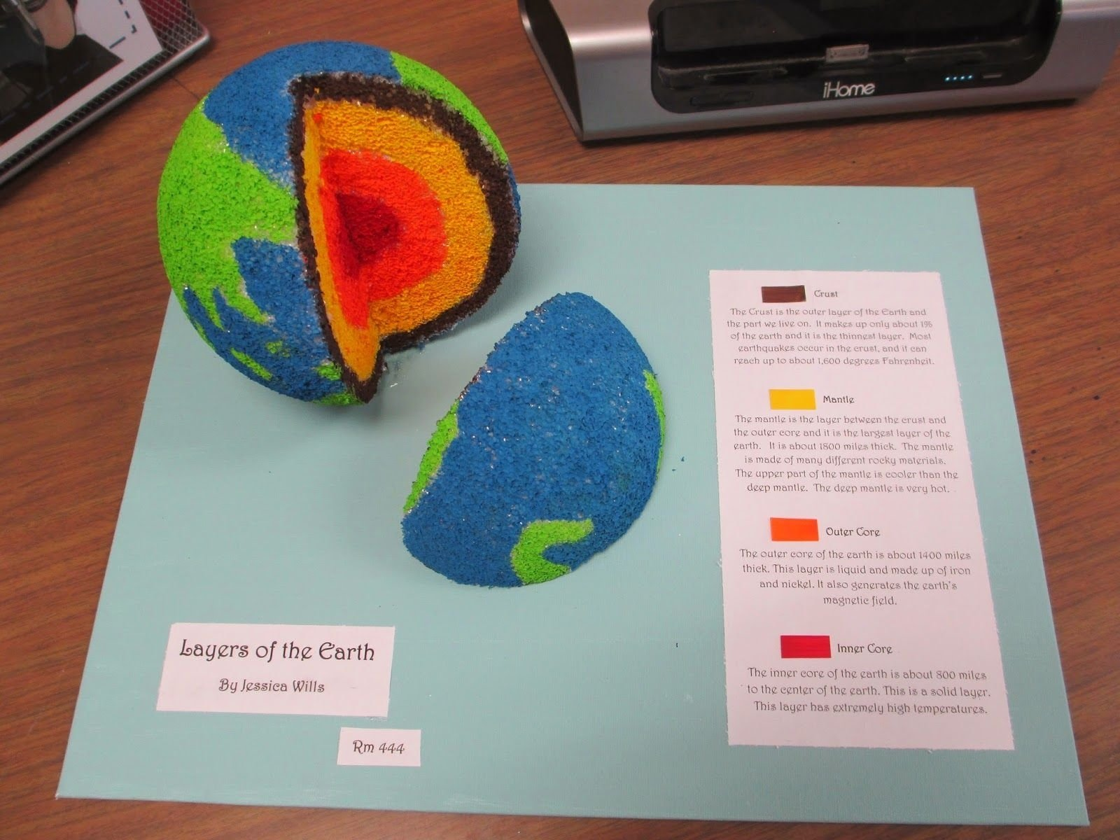 scientific saturdays: layers of earth projects and earth science