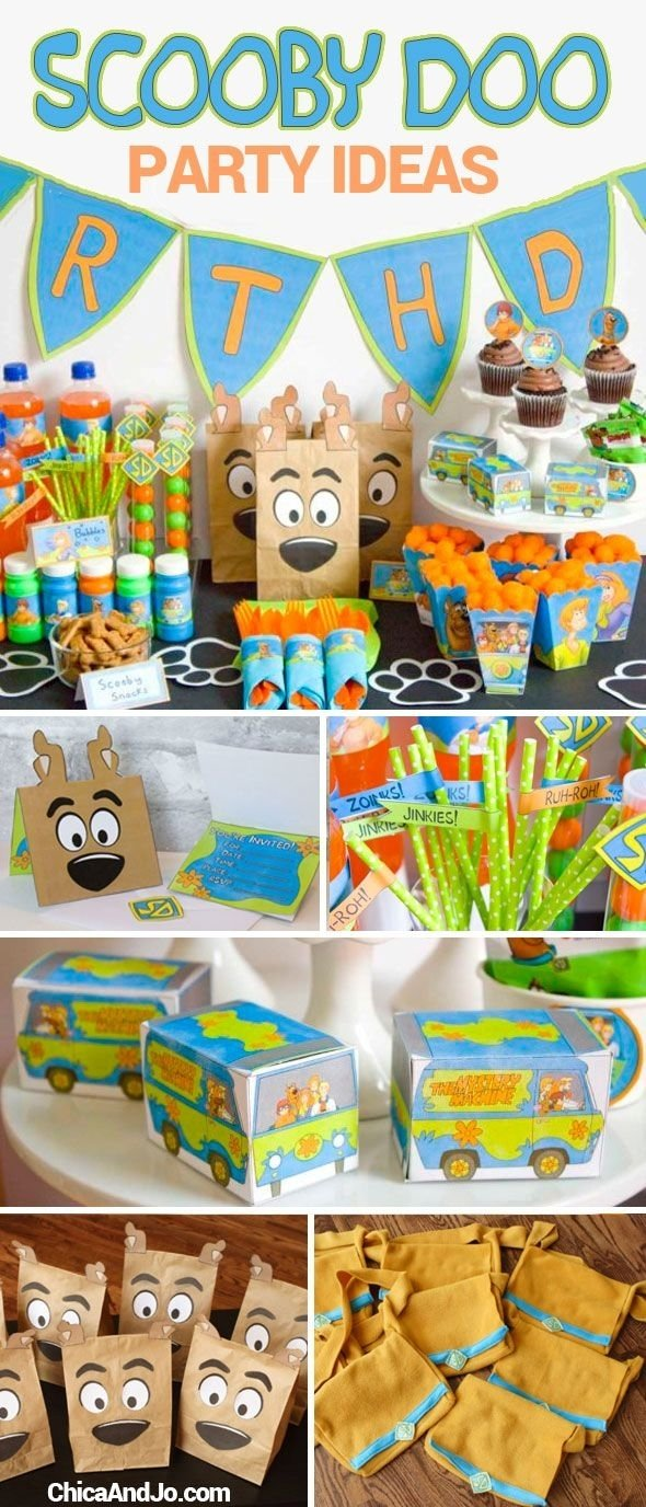 10 Unique Scooby Doo Birthday Party Ideas 2019