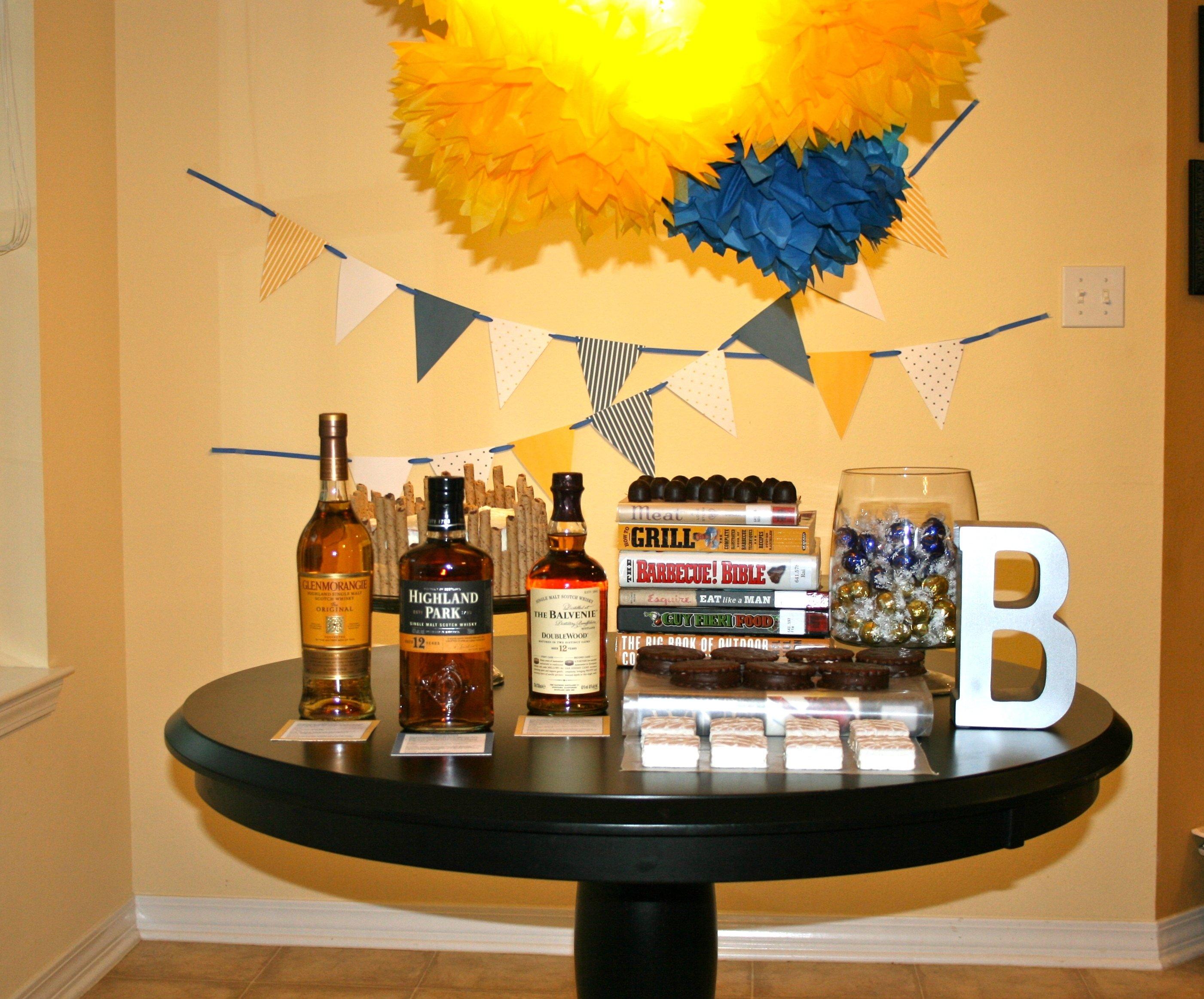 10 Stylish Birthday Party Ideas For Husband scotch birthday party a party studio 2020