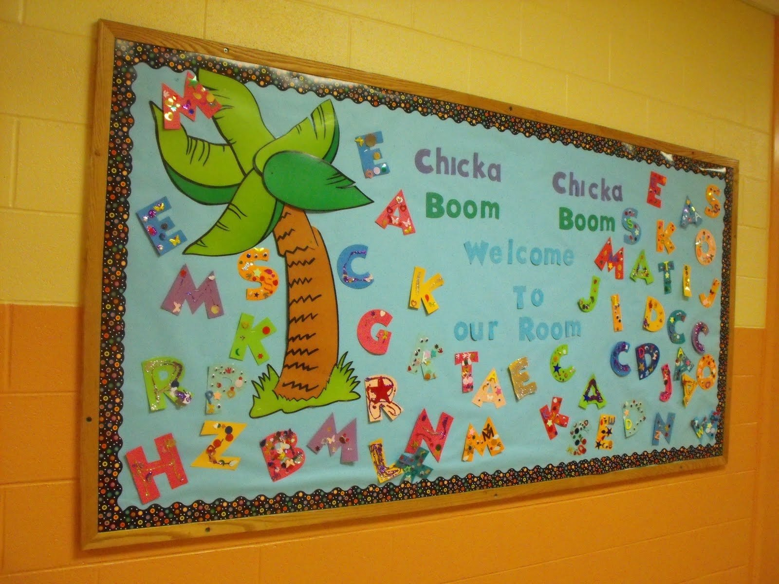 10 Best Chicka Chicka Boom Boom Bulletin Board Ideas scrap and teach new chicka chicka boom boom bulletin board 2020