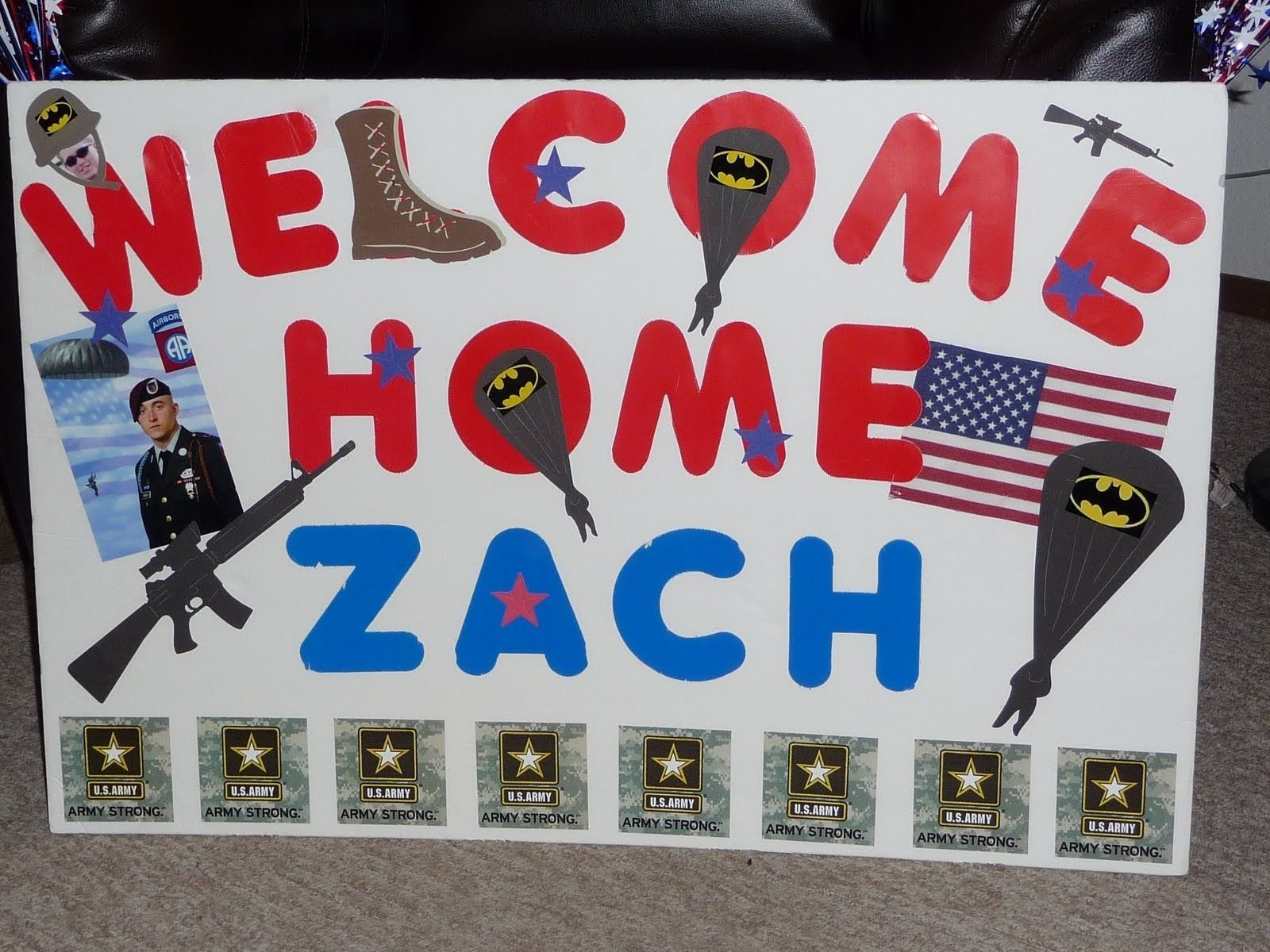 10 unique welcome home sign ideas for military