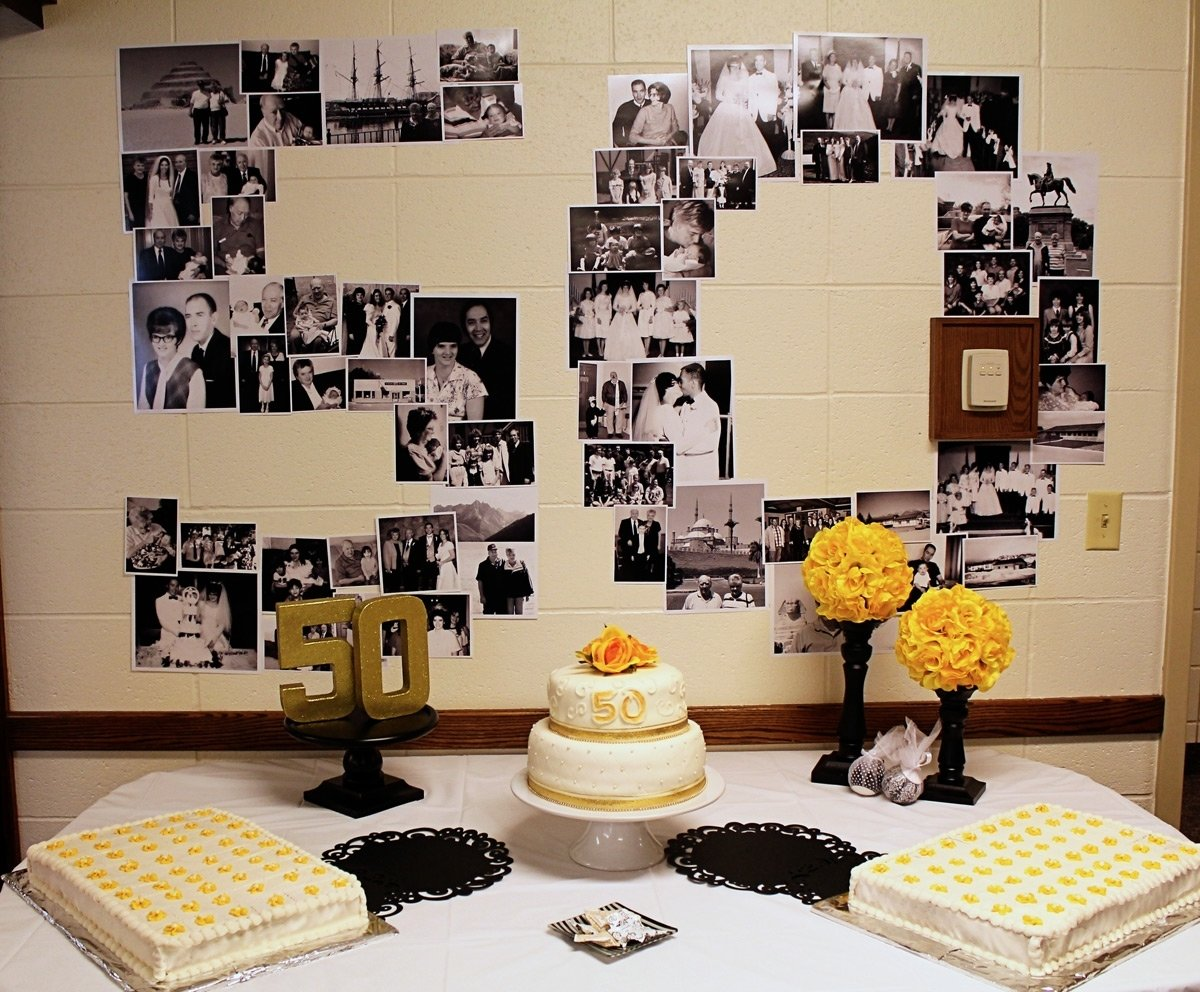 10 Perfect Ideas For 50Th Wedding Anniversary Party scraps of shirlee dad and moms 50th anniversary 2 2020