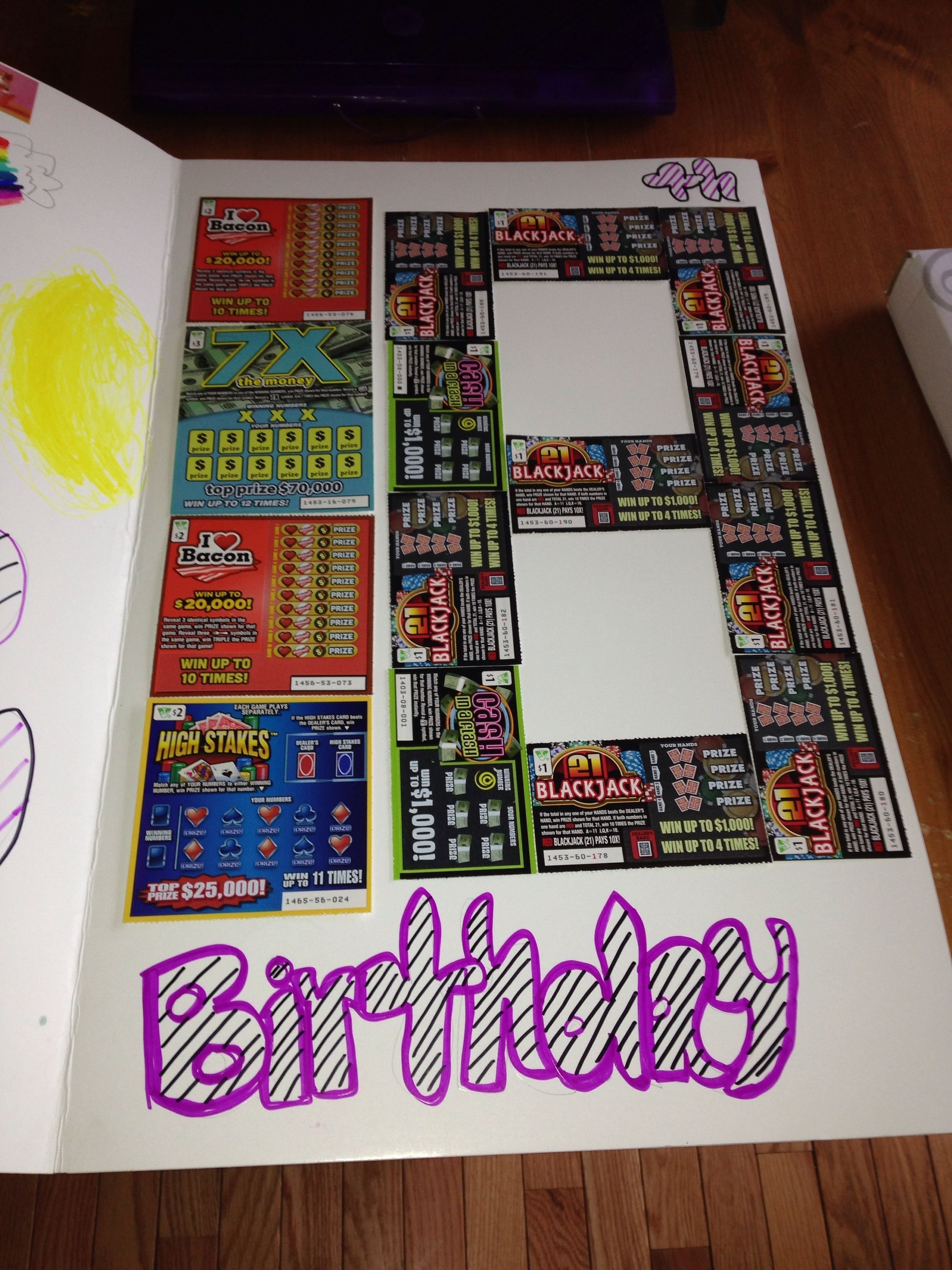 10 Most Recommended Ideas For 18Th Birthday Gift scratch off lottery tickets great 18th birthday idea party ideas 2020