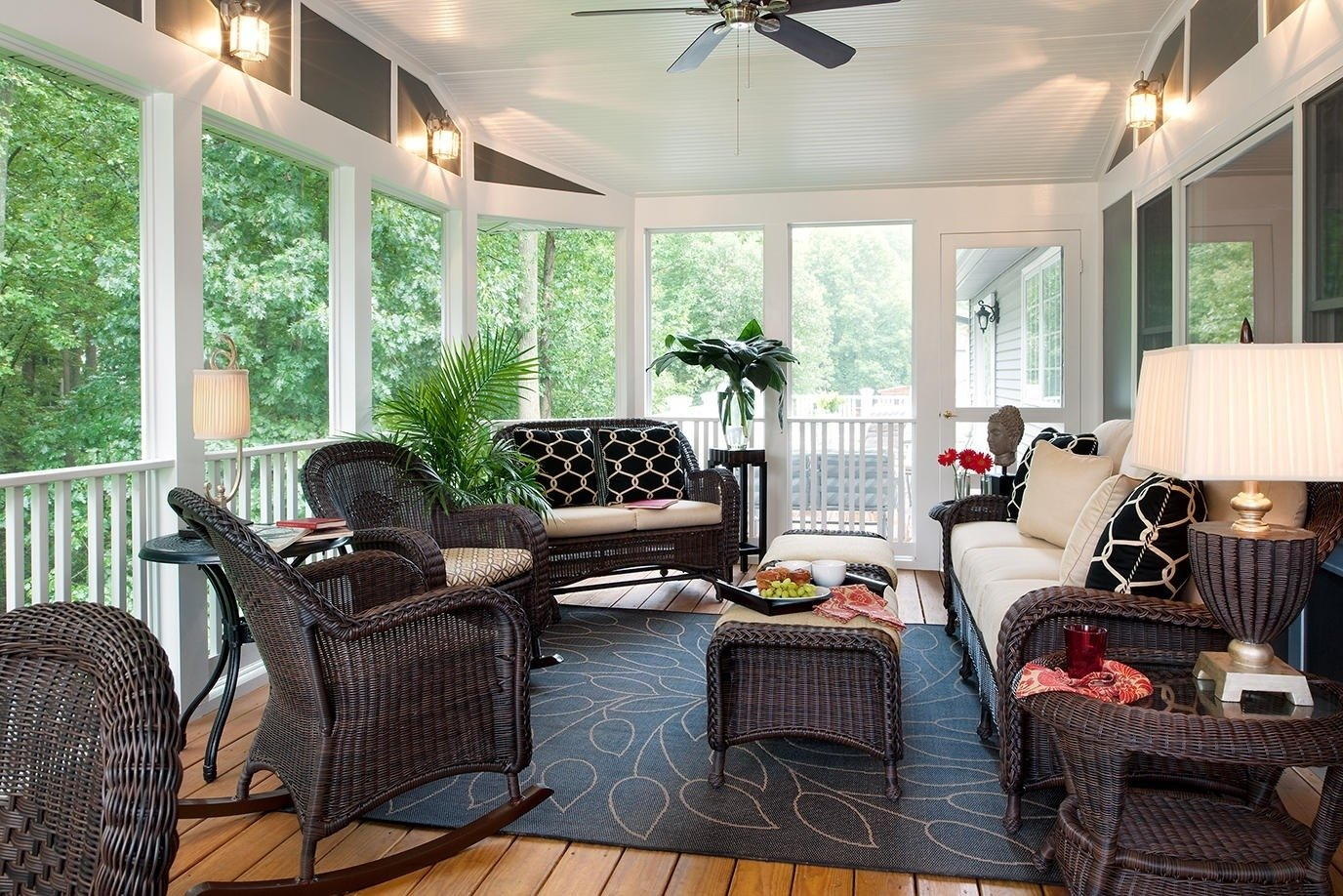 10 Trendy Ideas For Screened In Porches screen porch design ideas screened in porch decorating 1 2020
