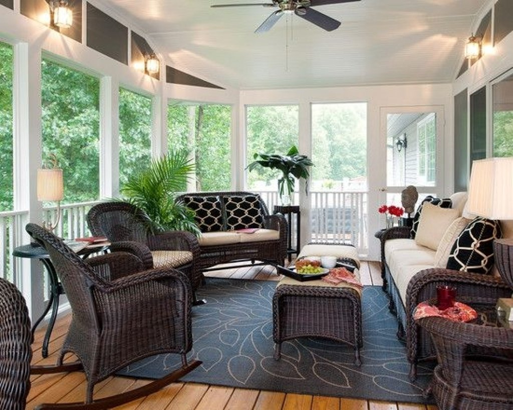 10 Most Recommended Screened In Porch Design Ideas screened in porch furniture ideas 1000 ideas about screened porch 2021