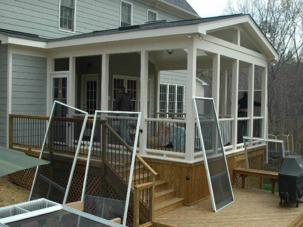 10 Trendy Ideas For Screened In Porches screened in porch ideasadorable screen porch plans do it yourself 2020