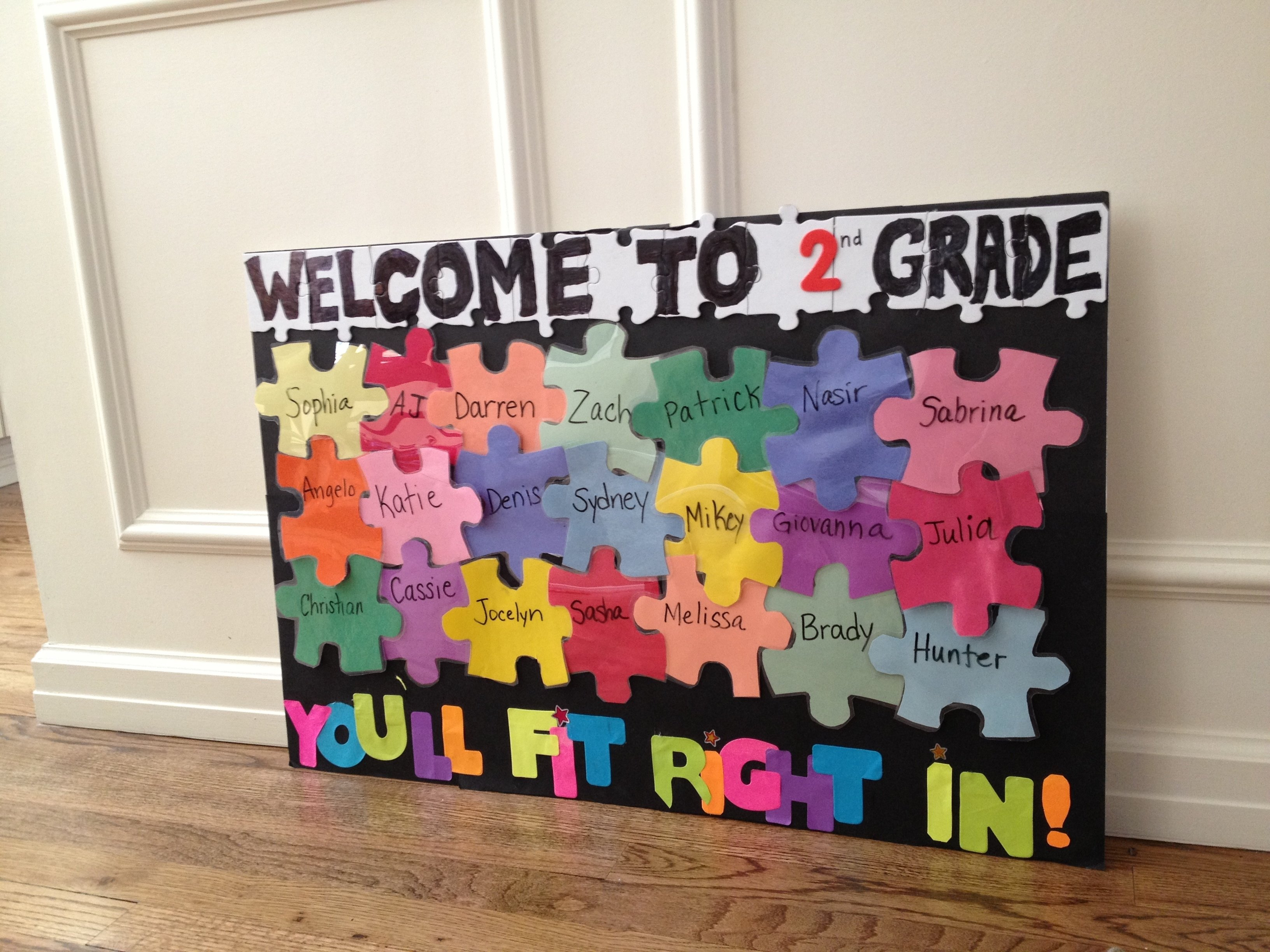 10 Stunning Welcome Back To School Bulletin Board Ideas second grade welcome back to school bulletin board ideas bing