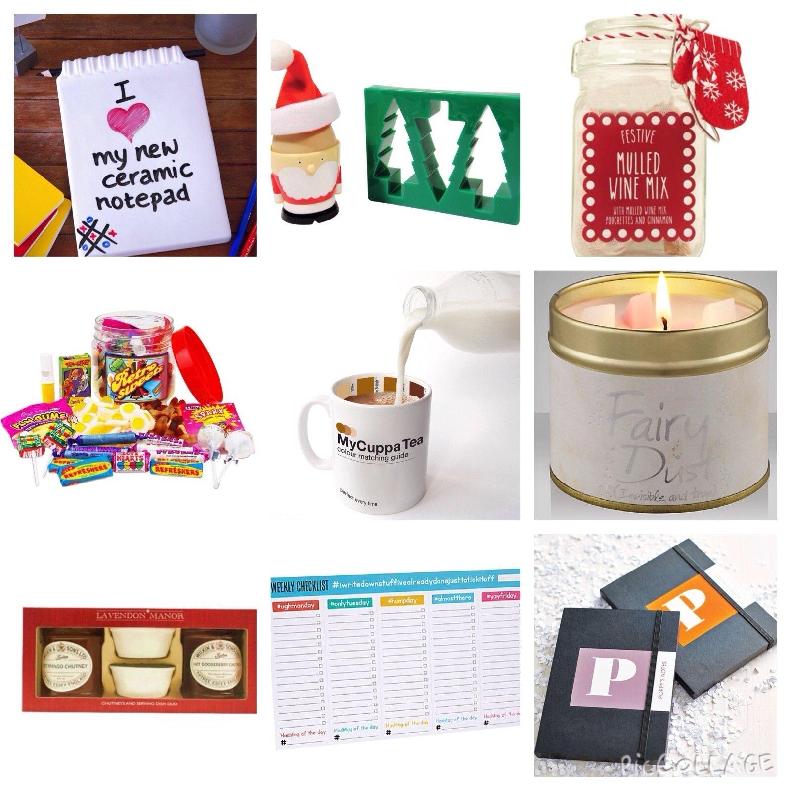 10 Trendy Ideas For Secret Santa Gifts secret santa gift ideas under 10 2