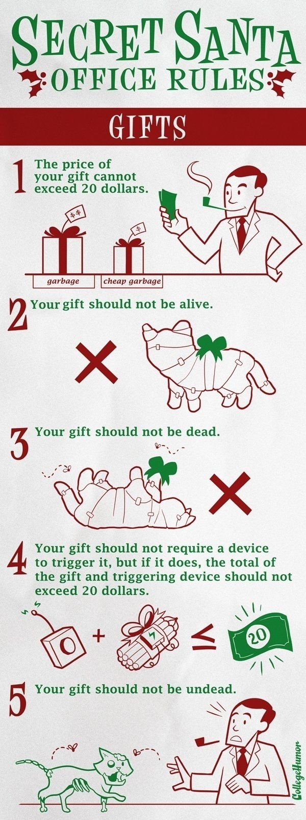 10 Most Recommended Secret Santa Ideas For Work secret santa office rules haha they told me im hosting the 2020