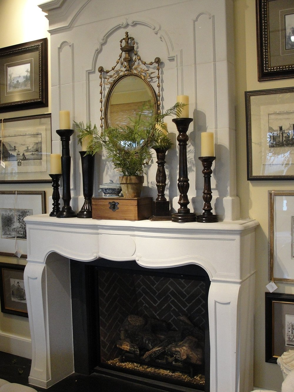 secrets for a sensational summer mantel - nell hills
