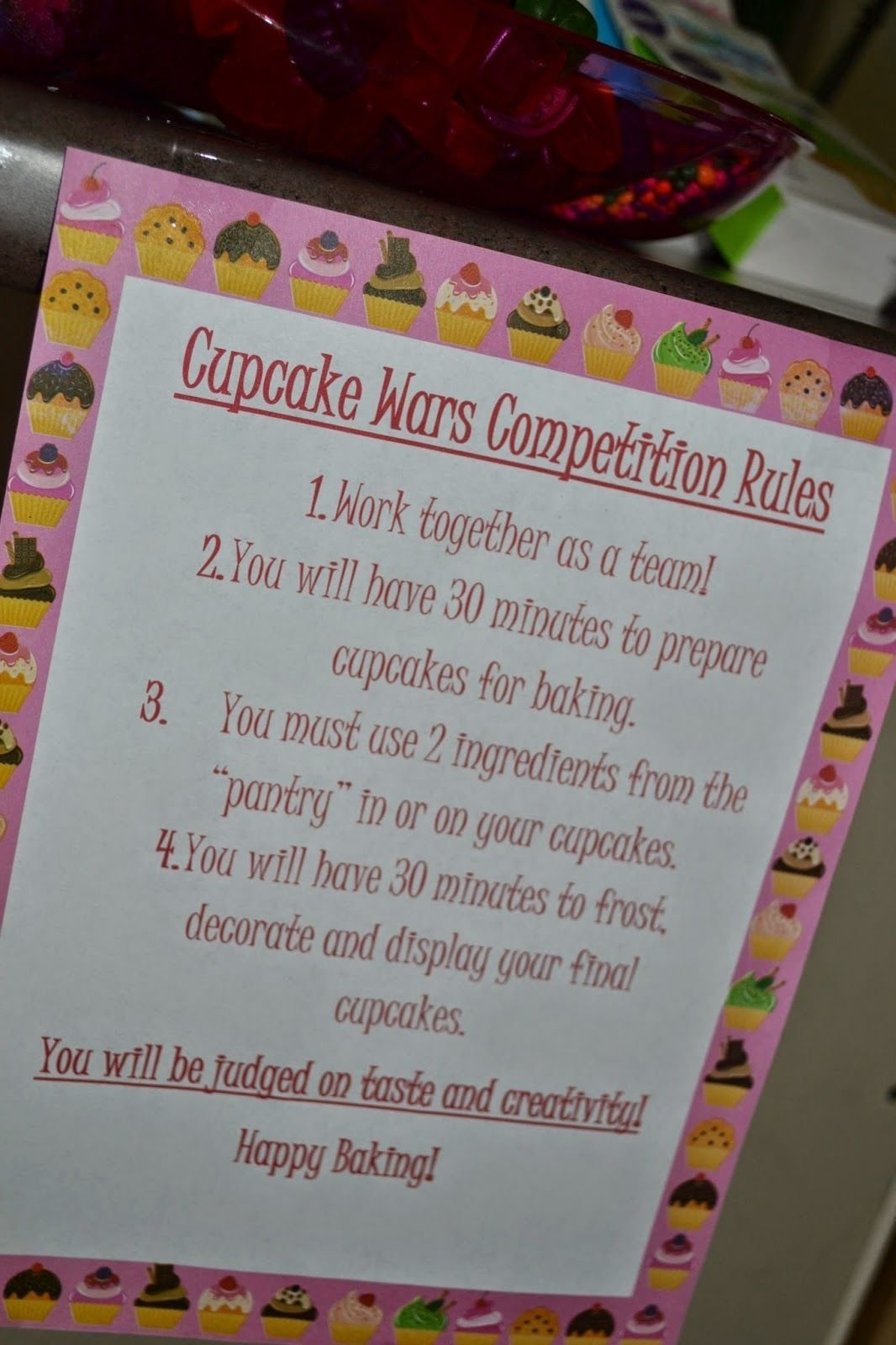 10 Wonderful Fun 13Th Birthday Party Ideas seeking sandy cupcake wars birthday party pinteres