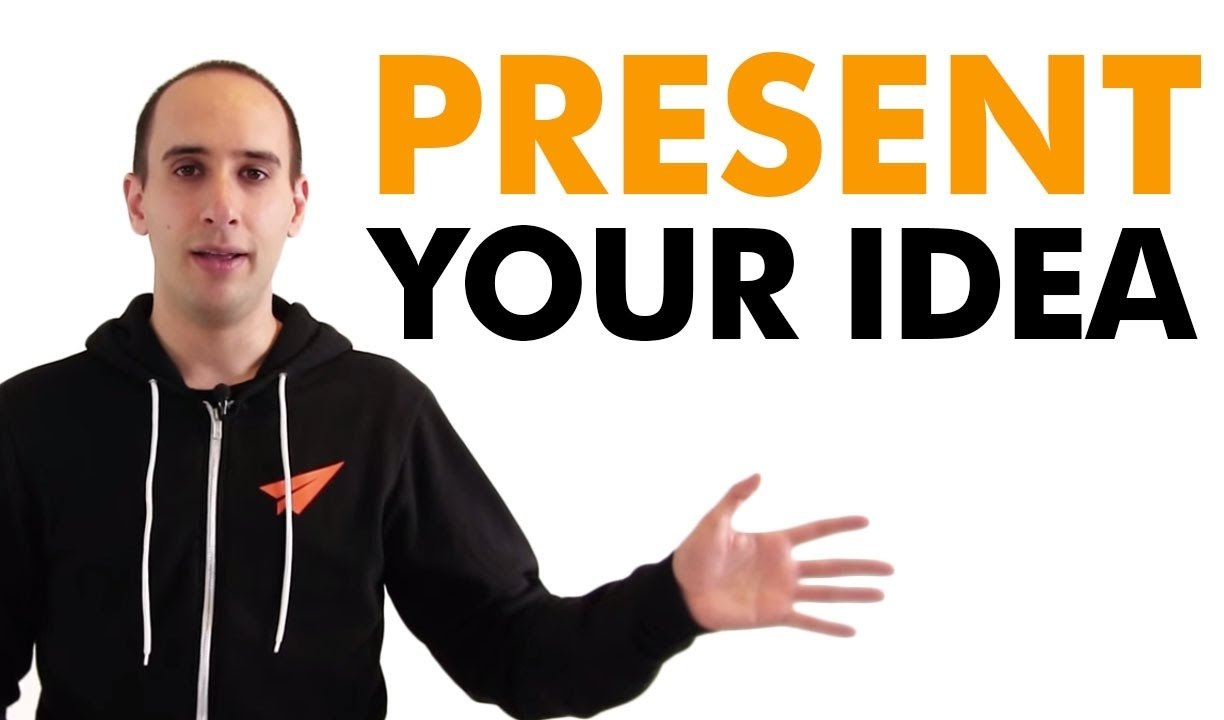 sell your idea - how to present your idea to a company - youtube